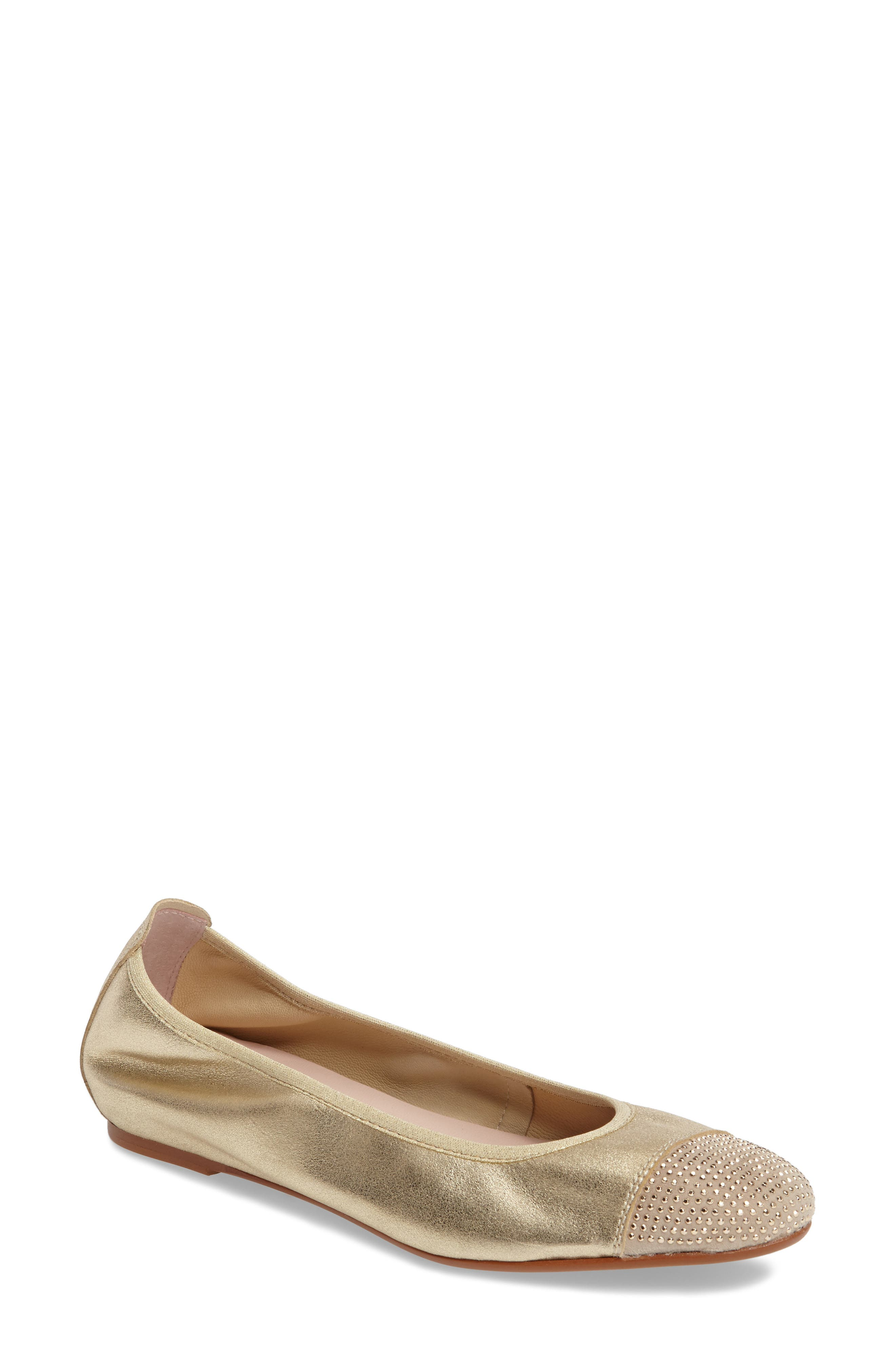 Alternate Image 1 Selected - Patricia Green 'Starr' Studded Ballet Flat (Women)