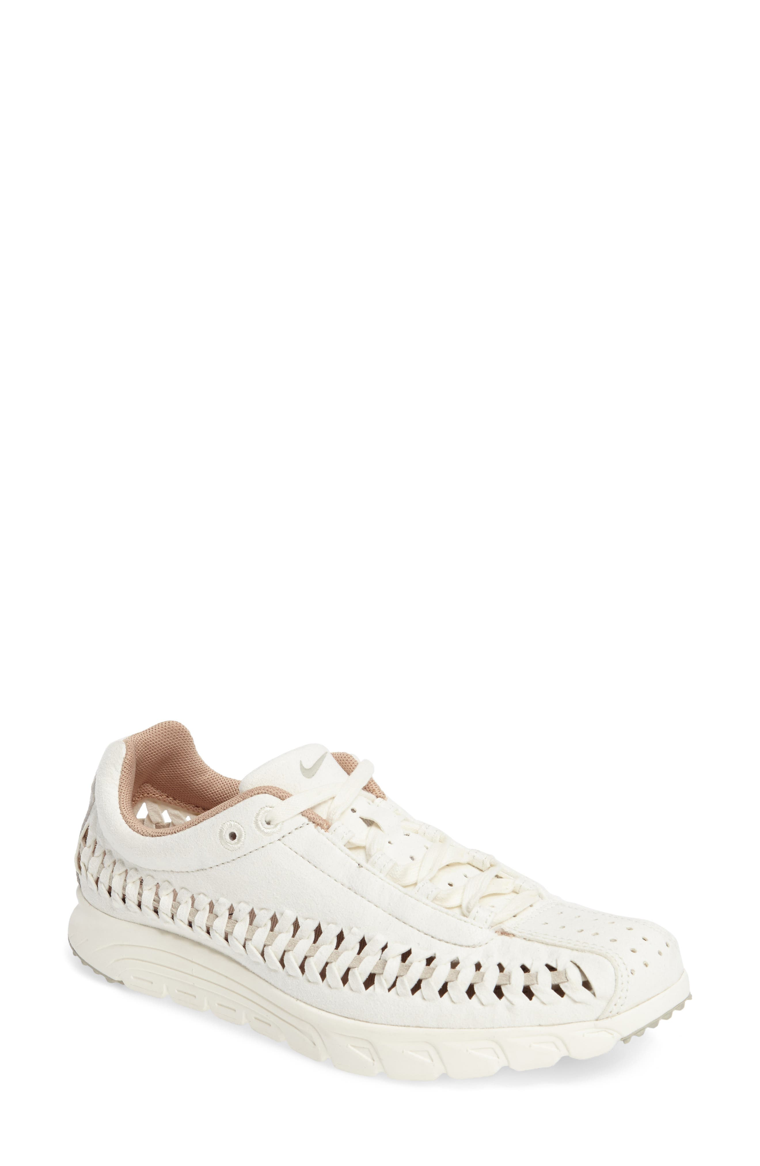 'Mayfly Woven' Sneaker,                         Main,                         color, Sail/ Pale Grey/ Elm/ Sail