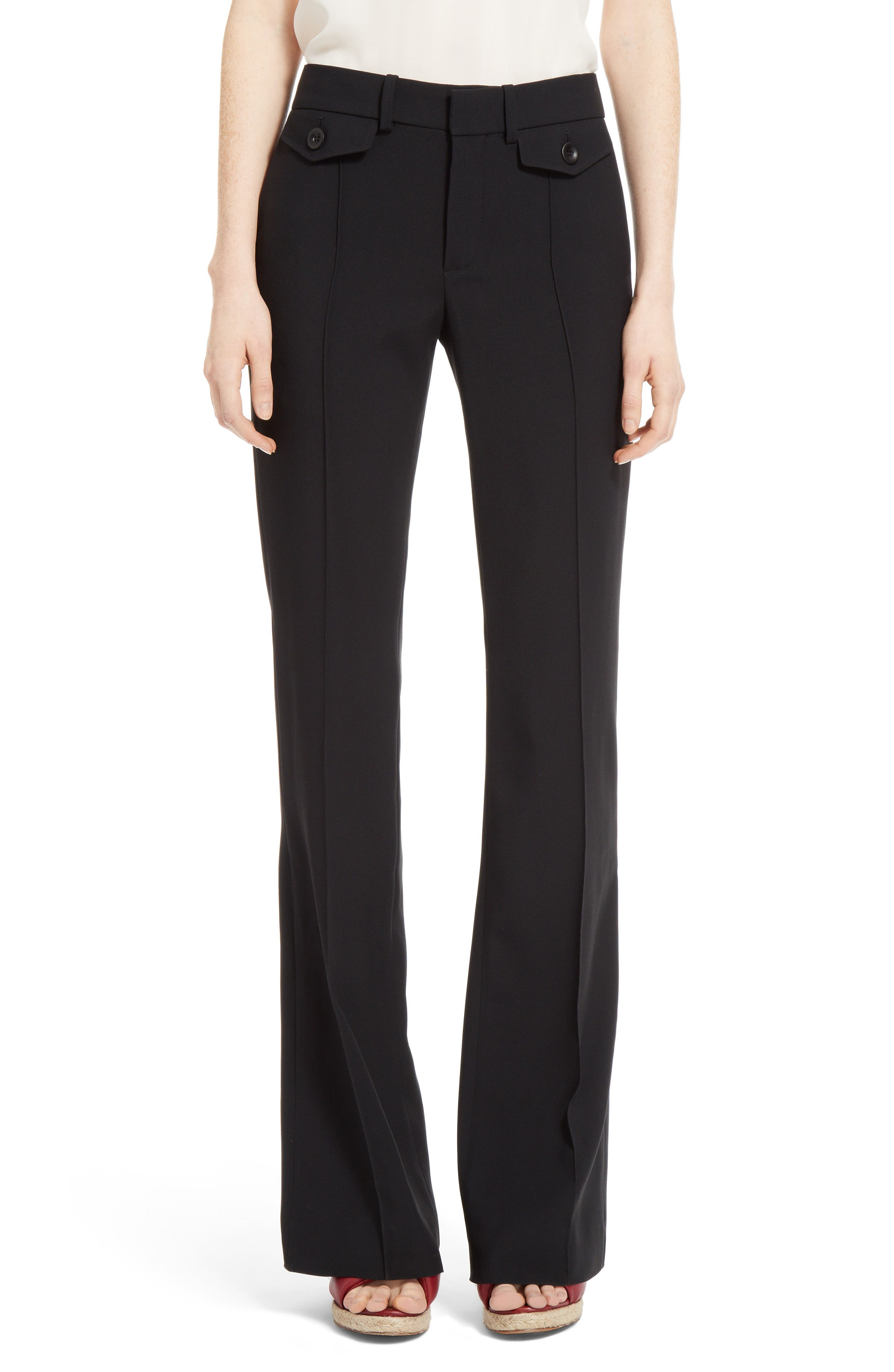 Alternate Image 1 Selected - Chloé Cady Bootcut Pants