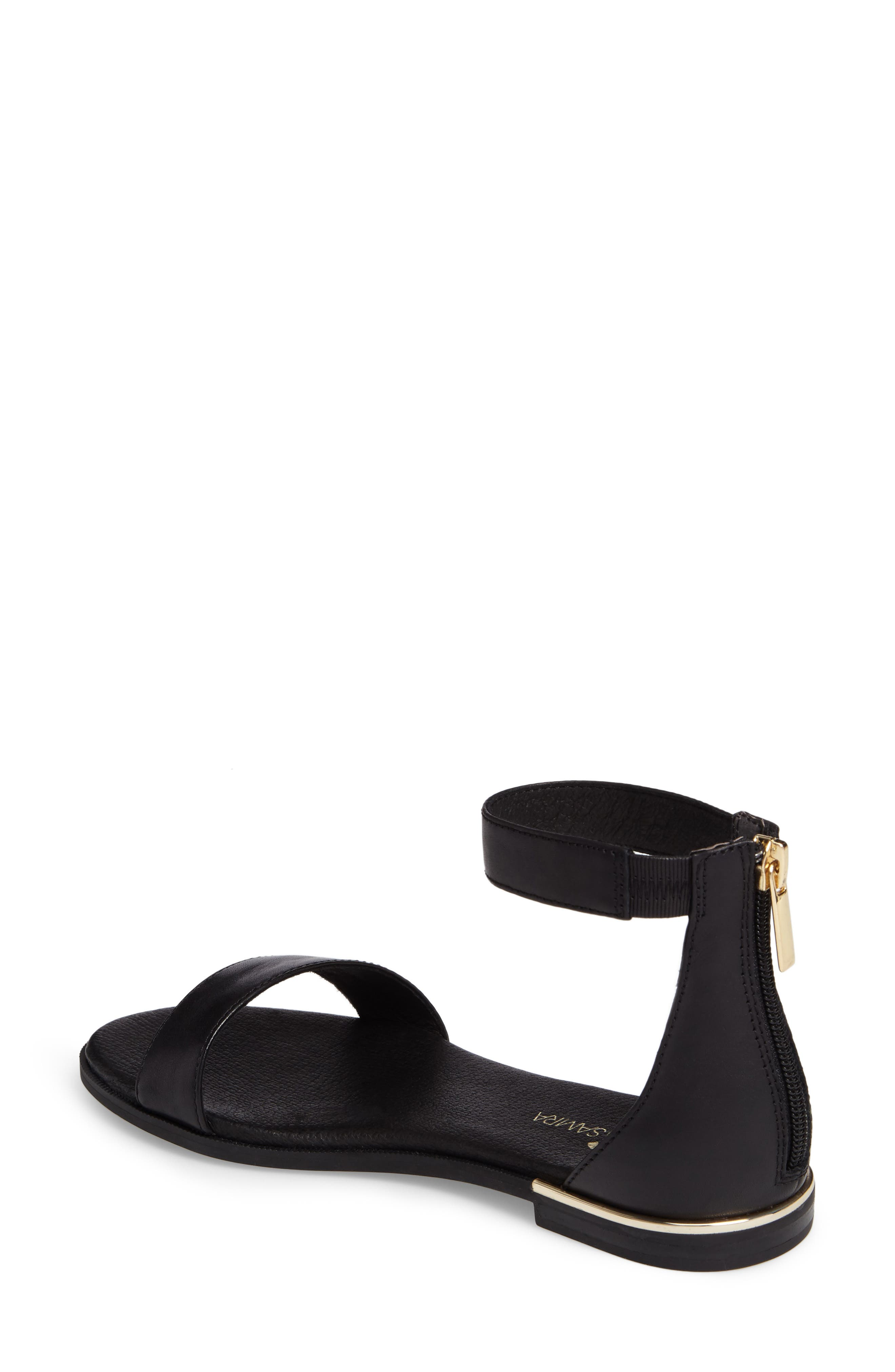 Cambelle 2.0 Sandal,                             Alternate thumbnail 2, color,                             Black Leather