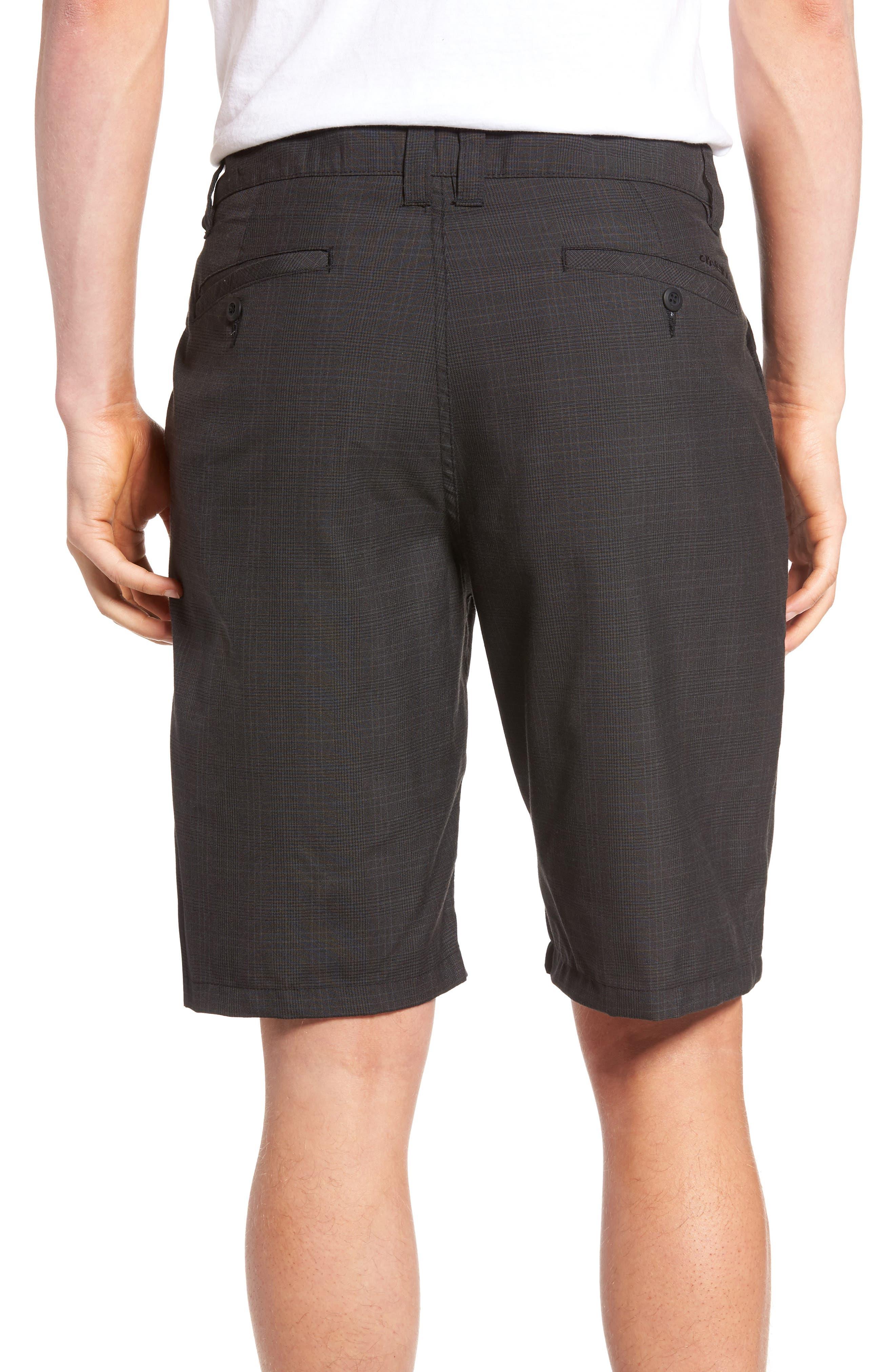 Delta Glen Plaid Shorts,                             Alternate thumbnail 2, color,                             Black