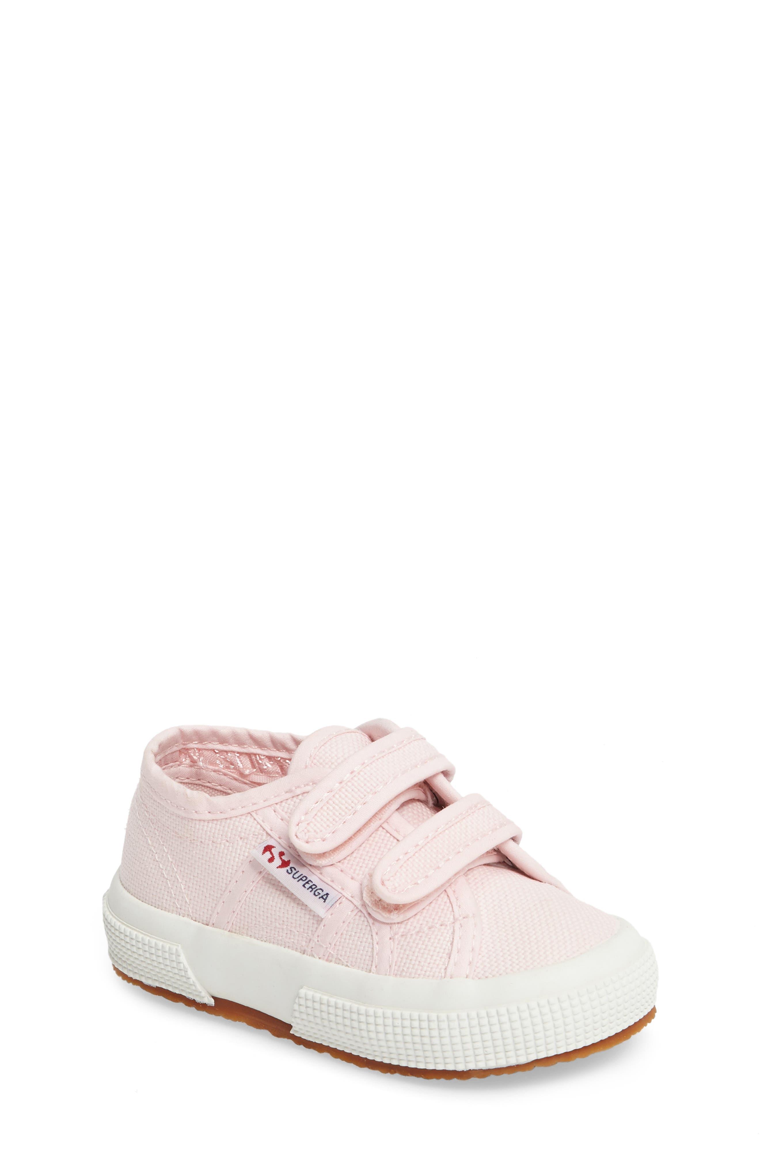 'Junior Classic' Sneaker,                             Main thumbnail 1, color,                             Pink