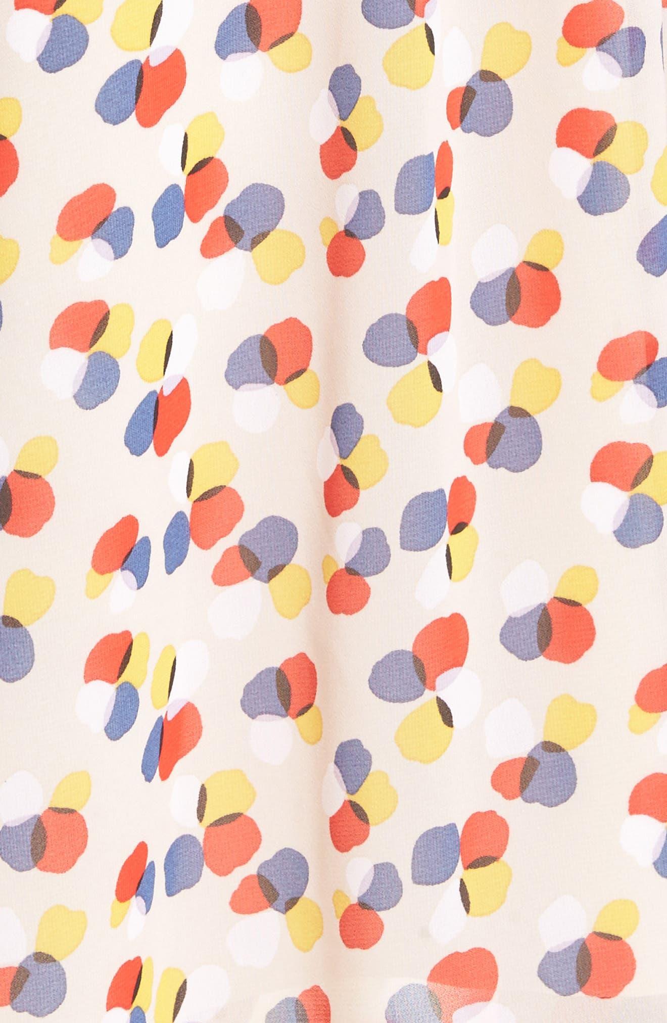 Alternate Image 5  - Anne Klein Print Chiffon Dress