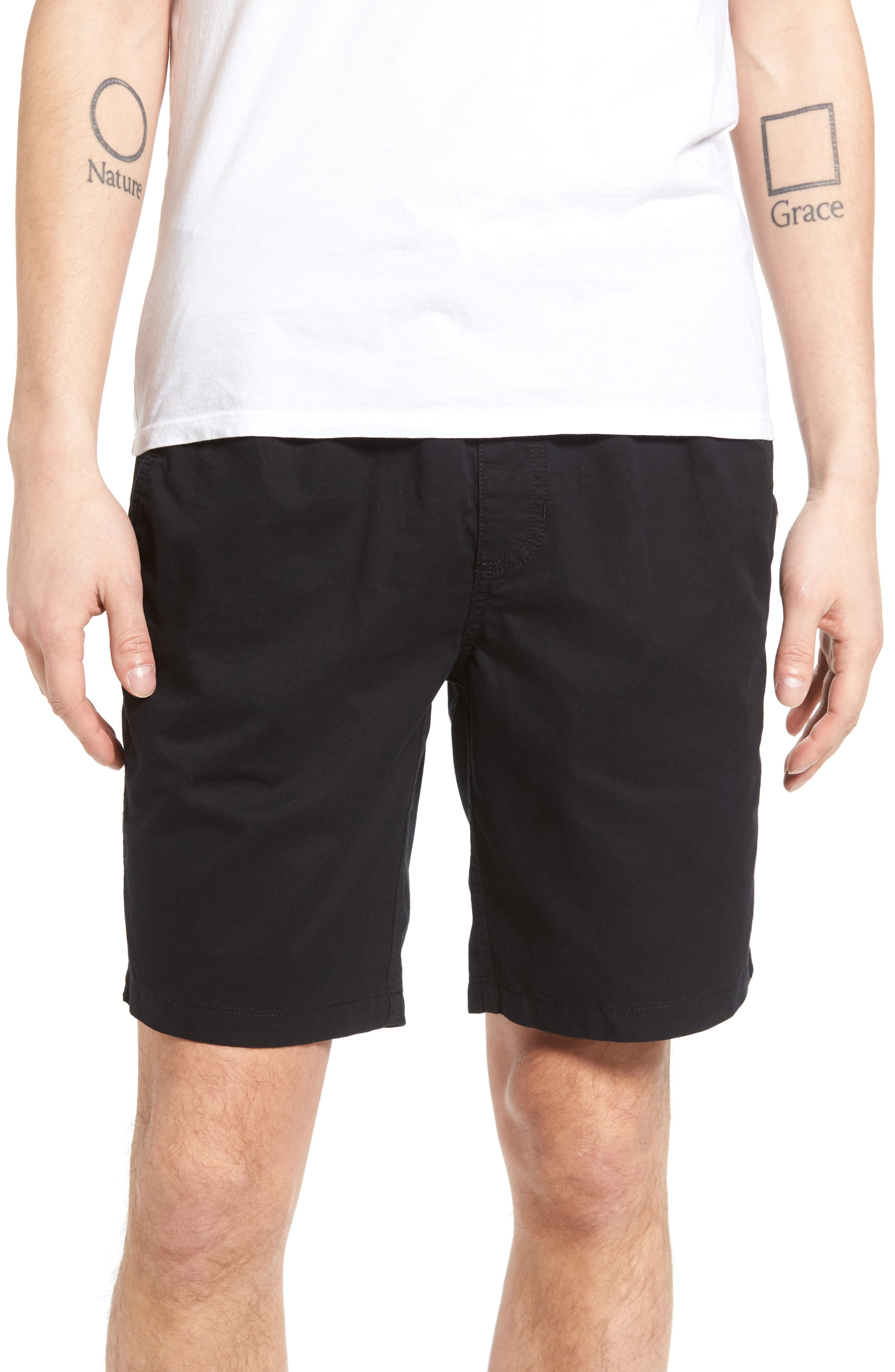 Range Shorts,                         Main,                         color, Black