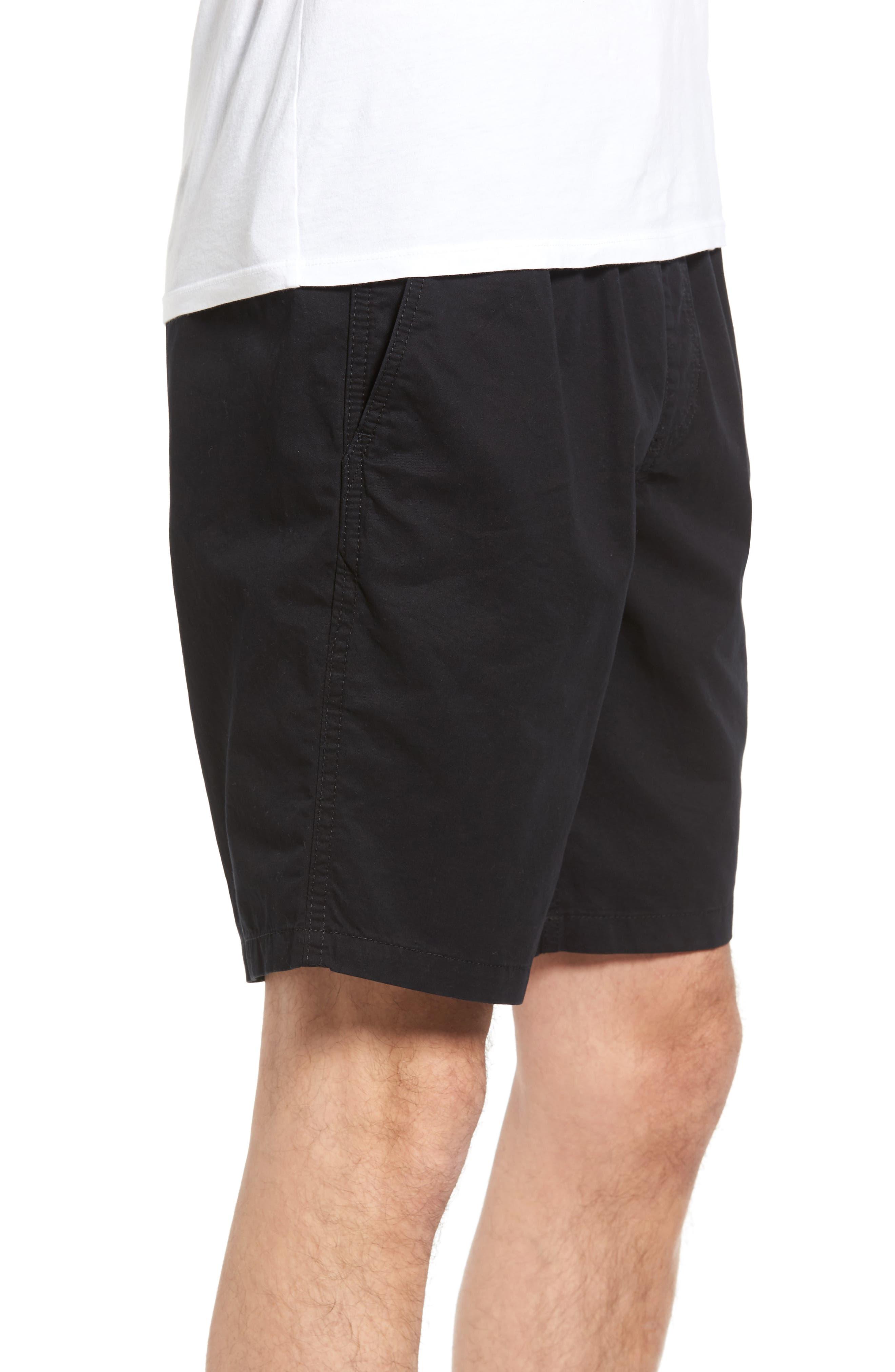 Range Shorts,                             Alternate thumbnail 3, color,                             Black