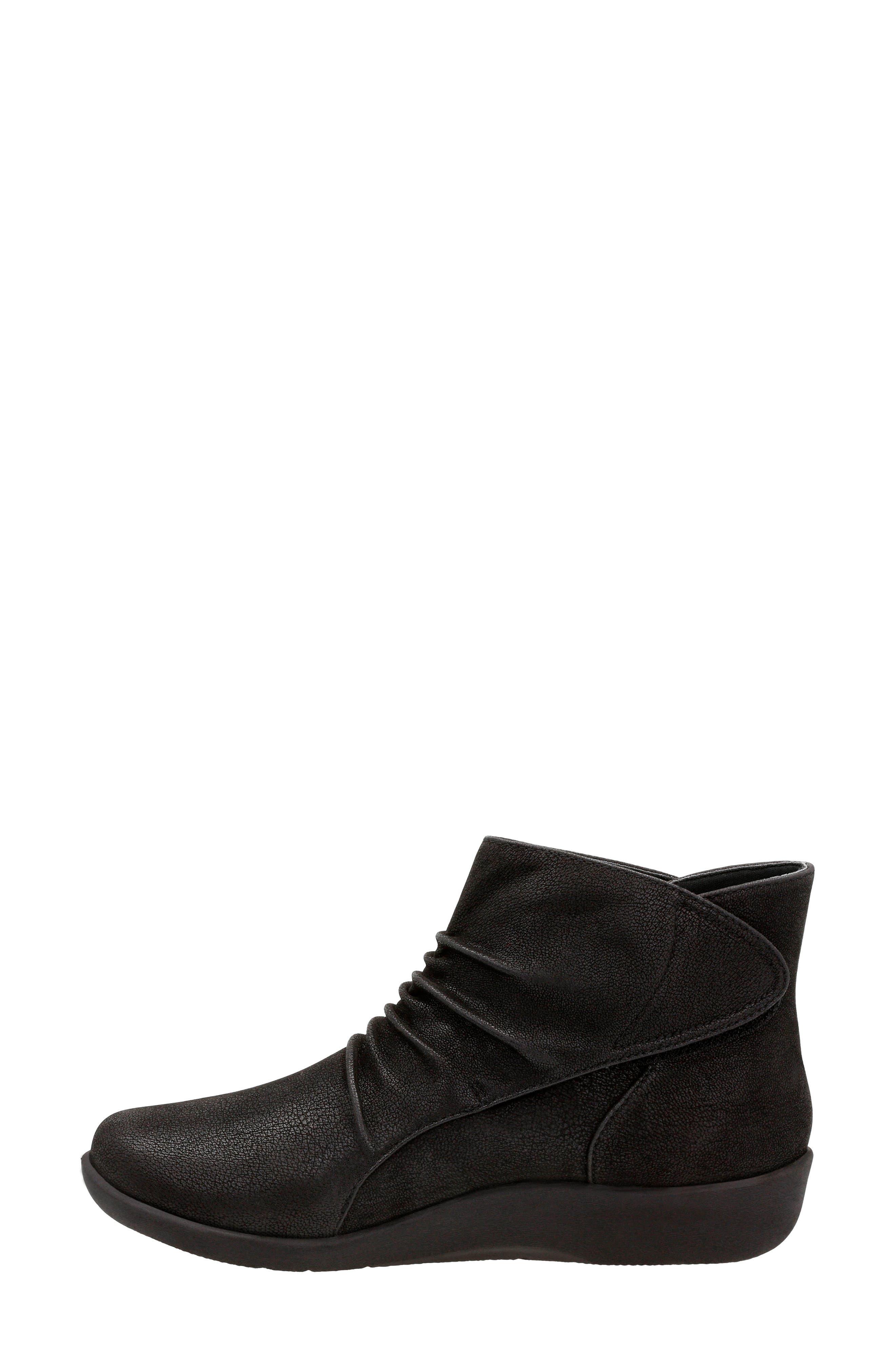 Sillian Sway Boot,                             Alternate thumbnail 2, color,                             Black Fabric