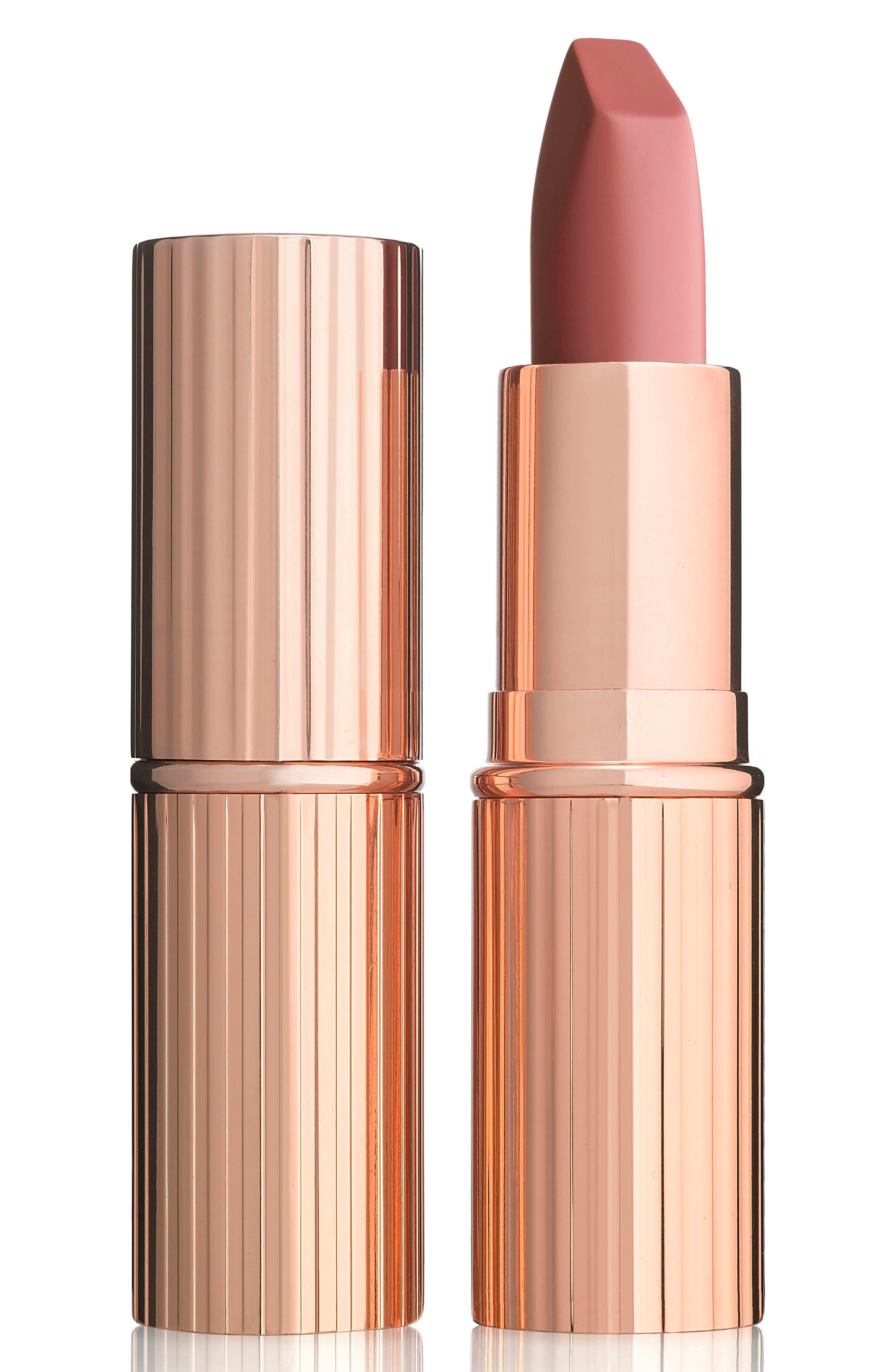 Matte Revolution Luminous Modern-Matte Lipstick,                             Main thumbnail 1, color,                             Pillow Talk
