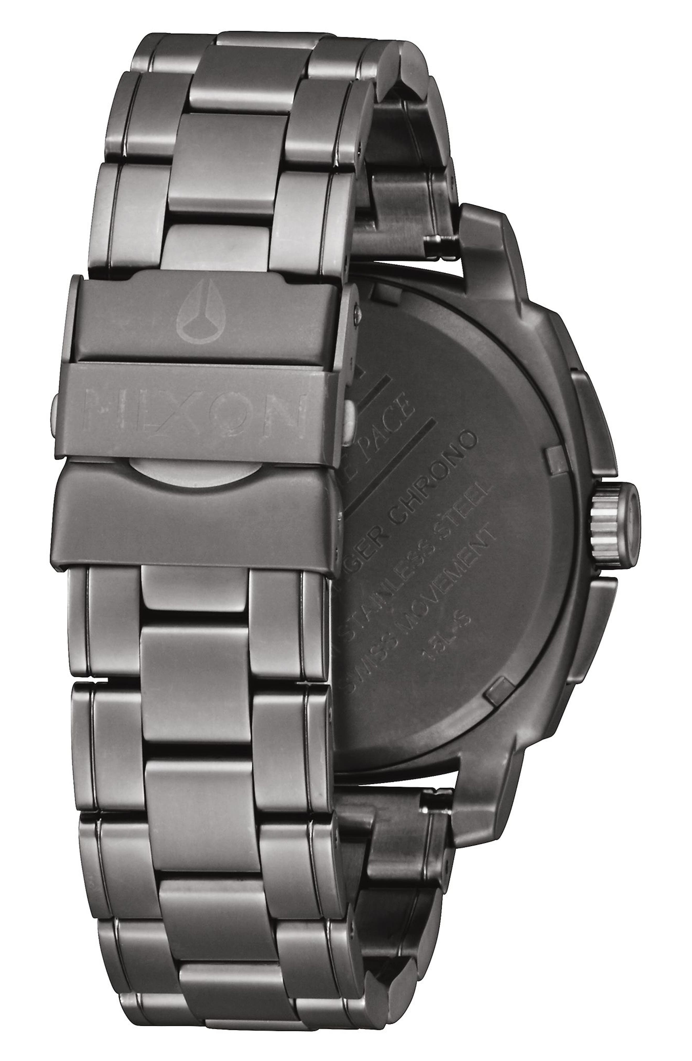 Alternate Image 2  - Nixon Charger Chronograph Bracelet Watch, 42mm