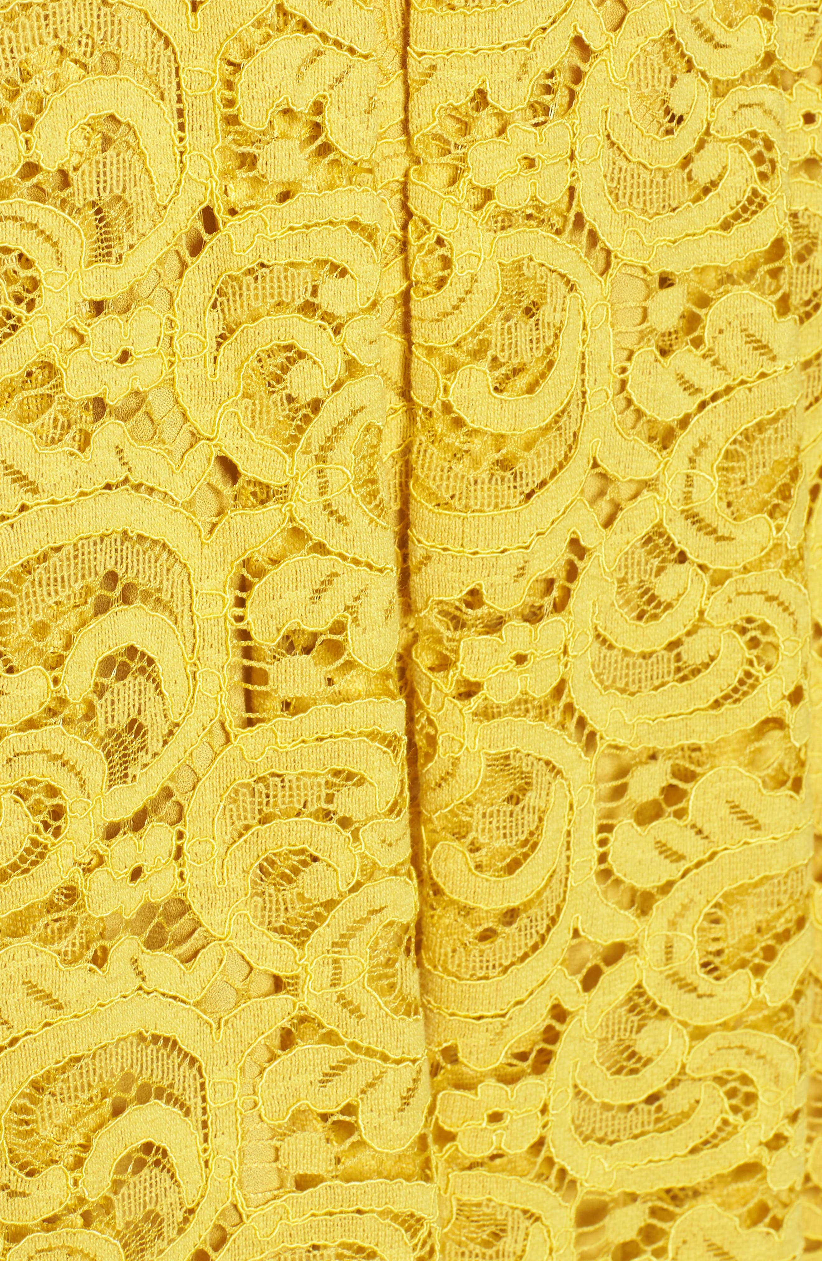 Alternate Image 5  - J.O.A. Lace Midi Dress