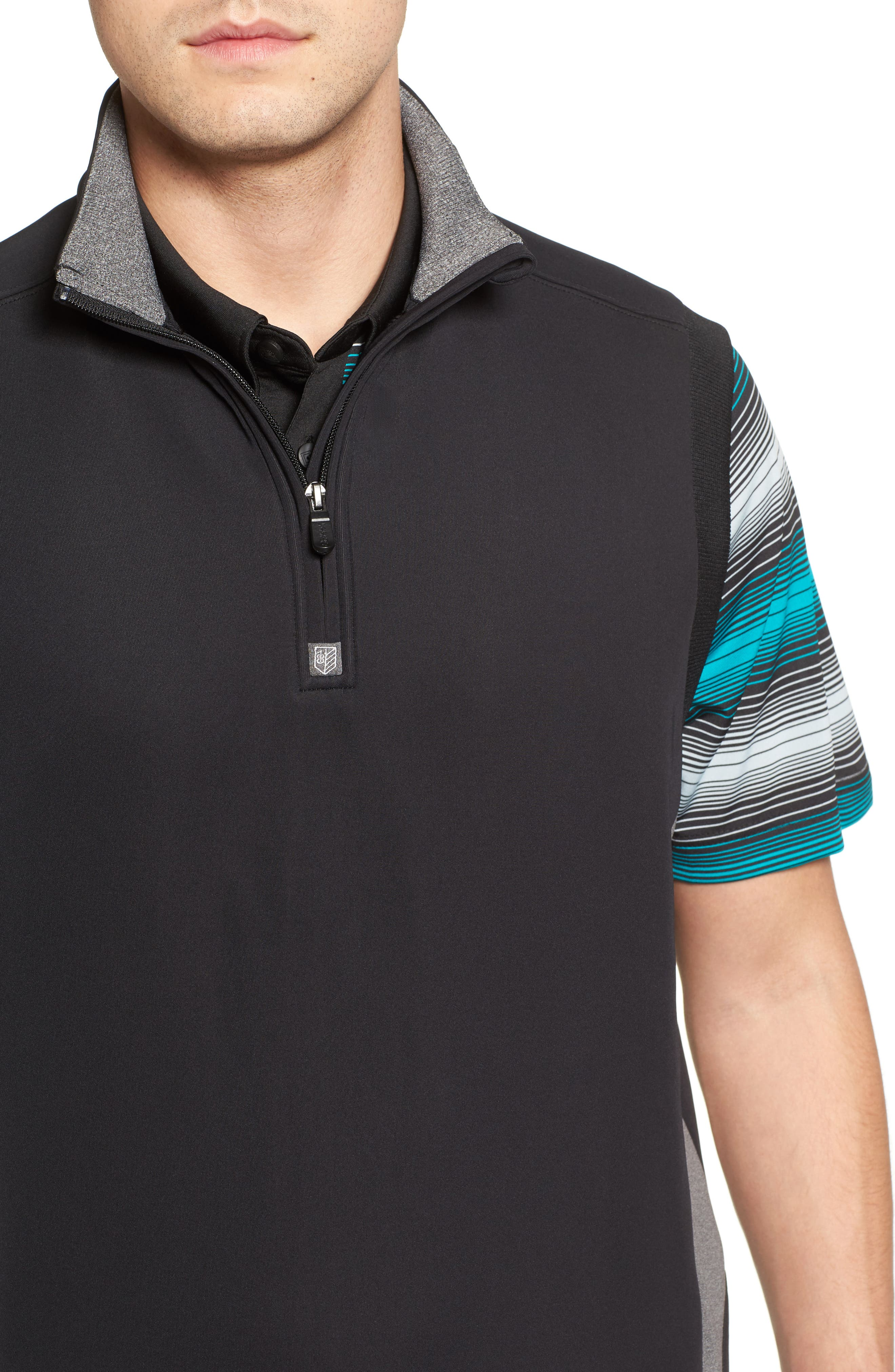 Alternate Image 4  - Bobby Jones Rule 18 Tech Quarter Zip Vest