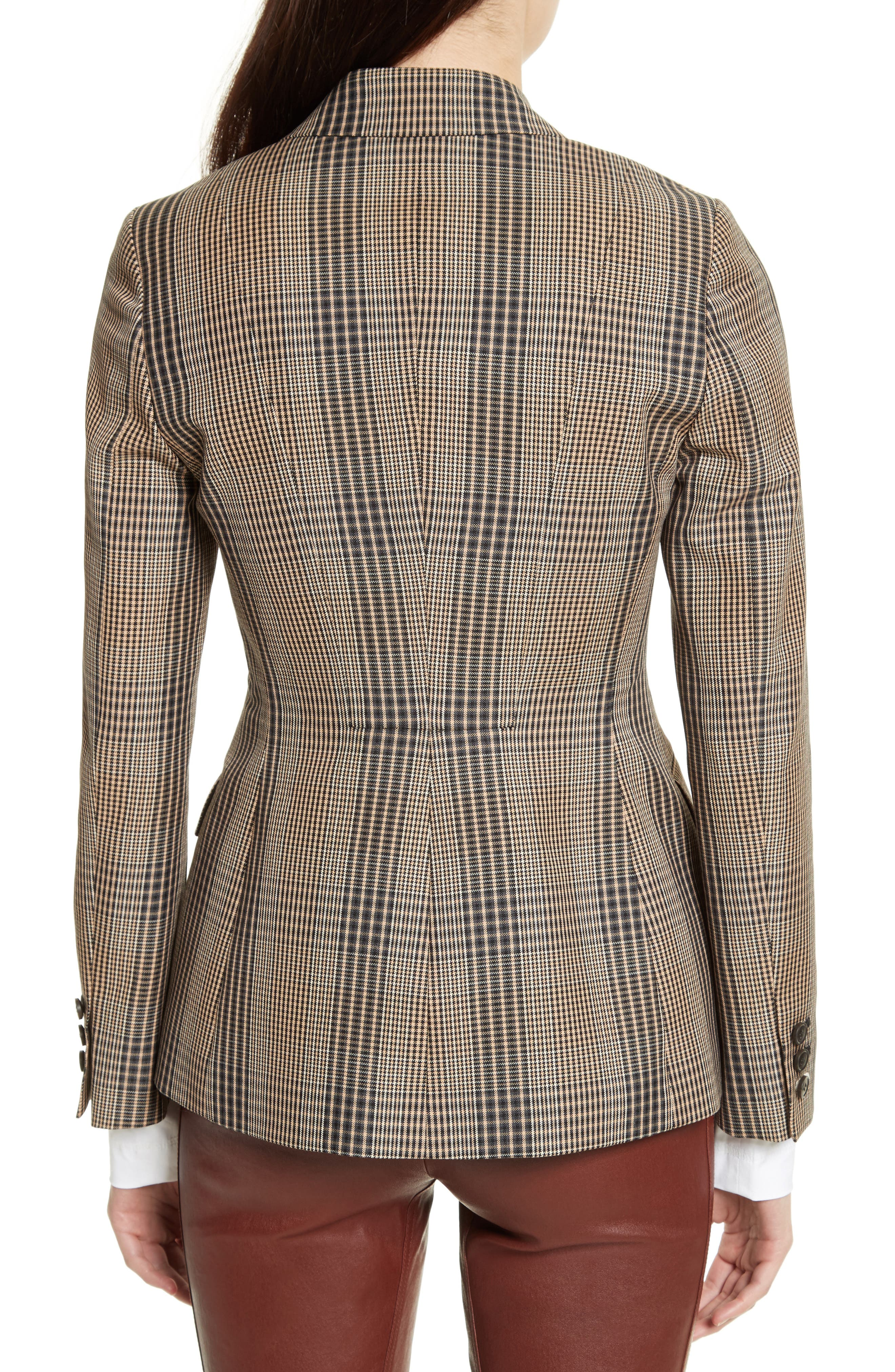 Alternate Image 2  - Theory Faringdon Check Riding Jacket