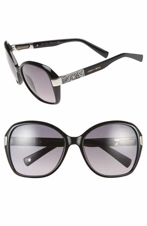 75919876a98 Jimmy Choo 57mm Butterfly Sunglasses