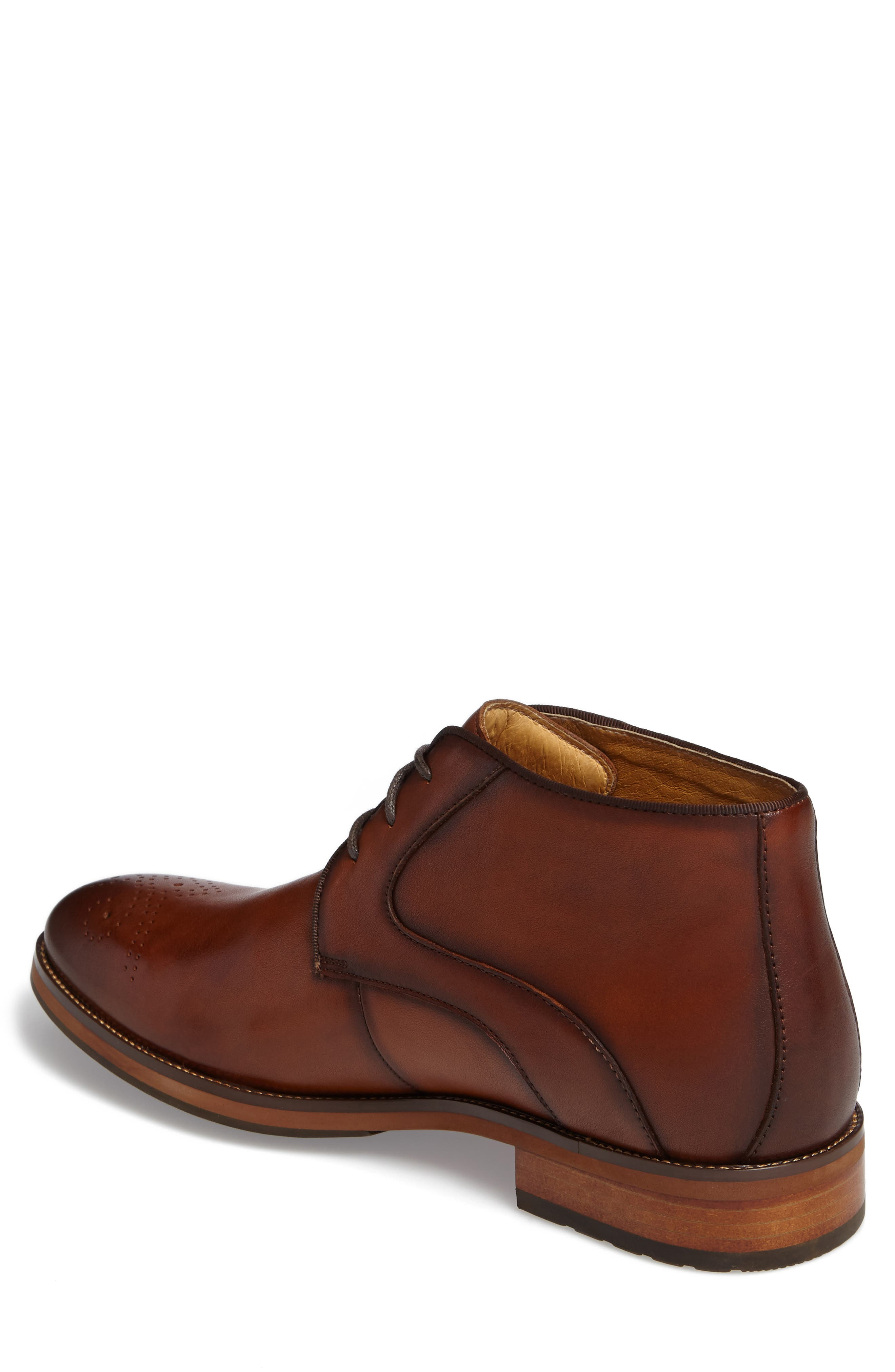 Blaze Chukka Boot,                             Alternate thumbnail 2, color,                             Cognac Leather