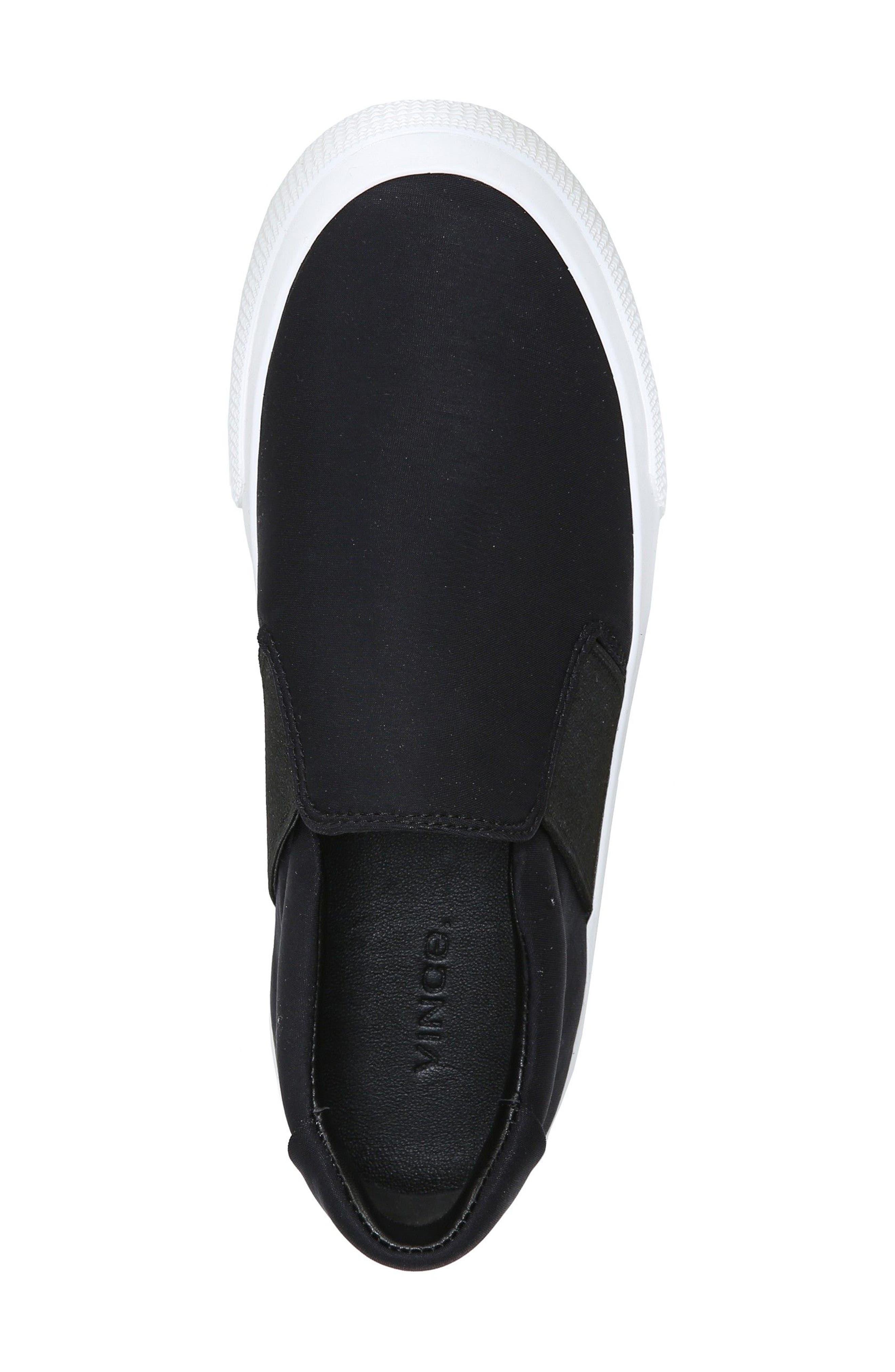Torin Slip-On Sneaker,                             Alternate thumbnail 5, color,                             Black
