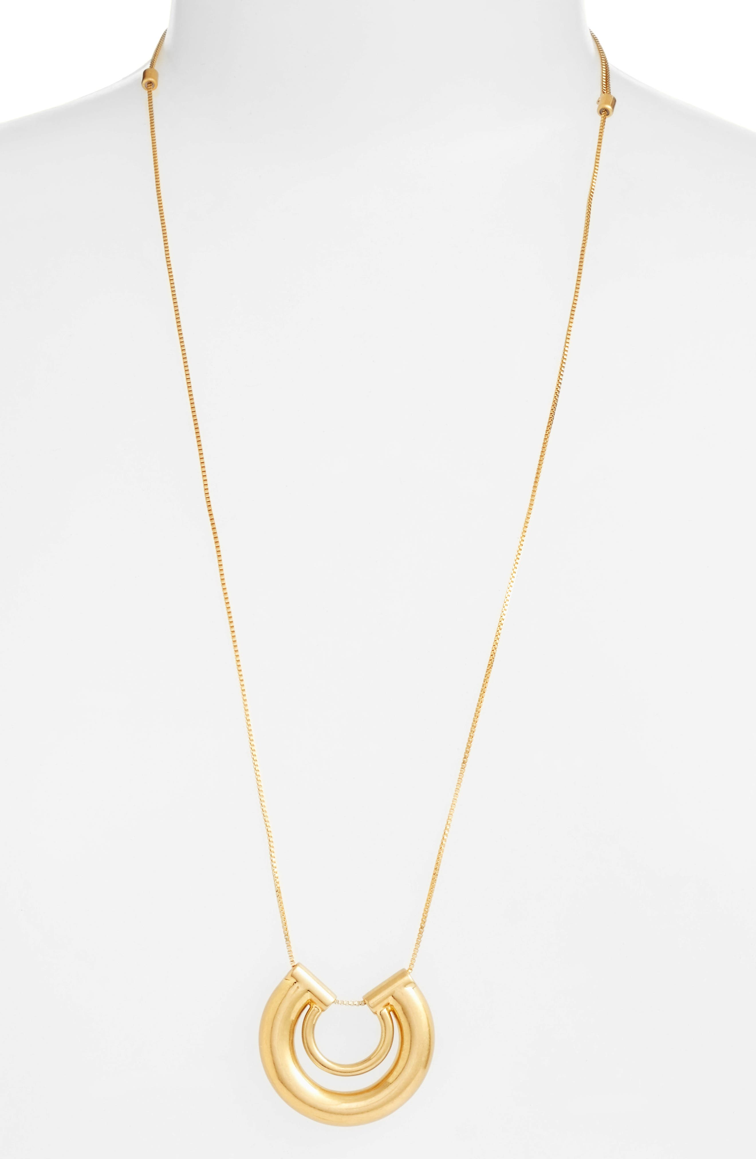 Alternate Image 1 Selected - Madewell Coliseum Pendant Necklace