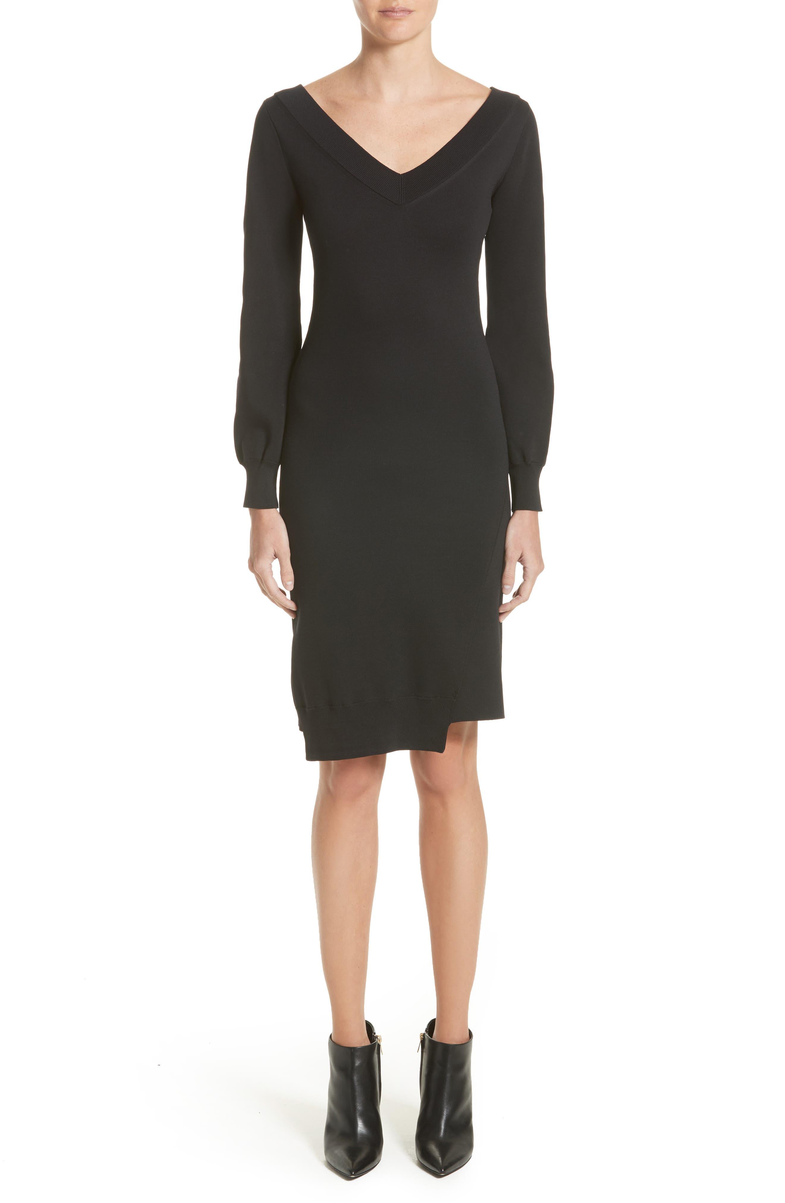Marro Knit Dress,                         Main,                         color, Black