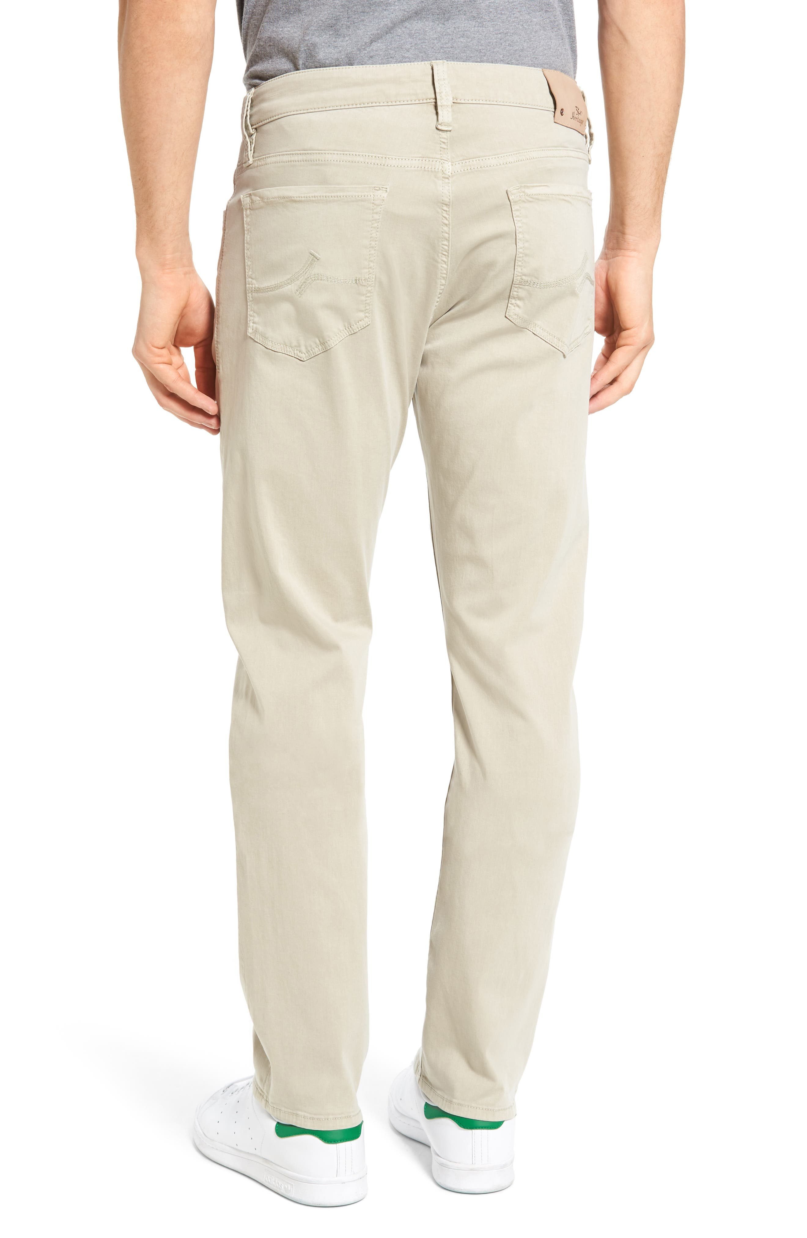 Courage Straight Leg Jeans,                             Alternate thumbnail 2, color,                             Stone Twill
