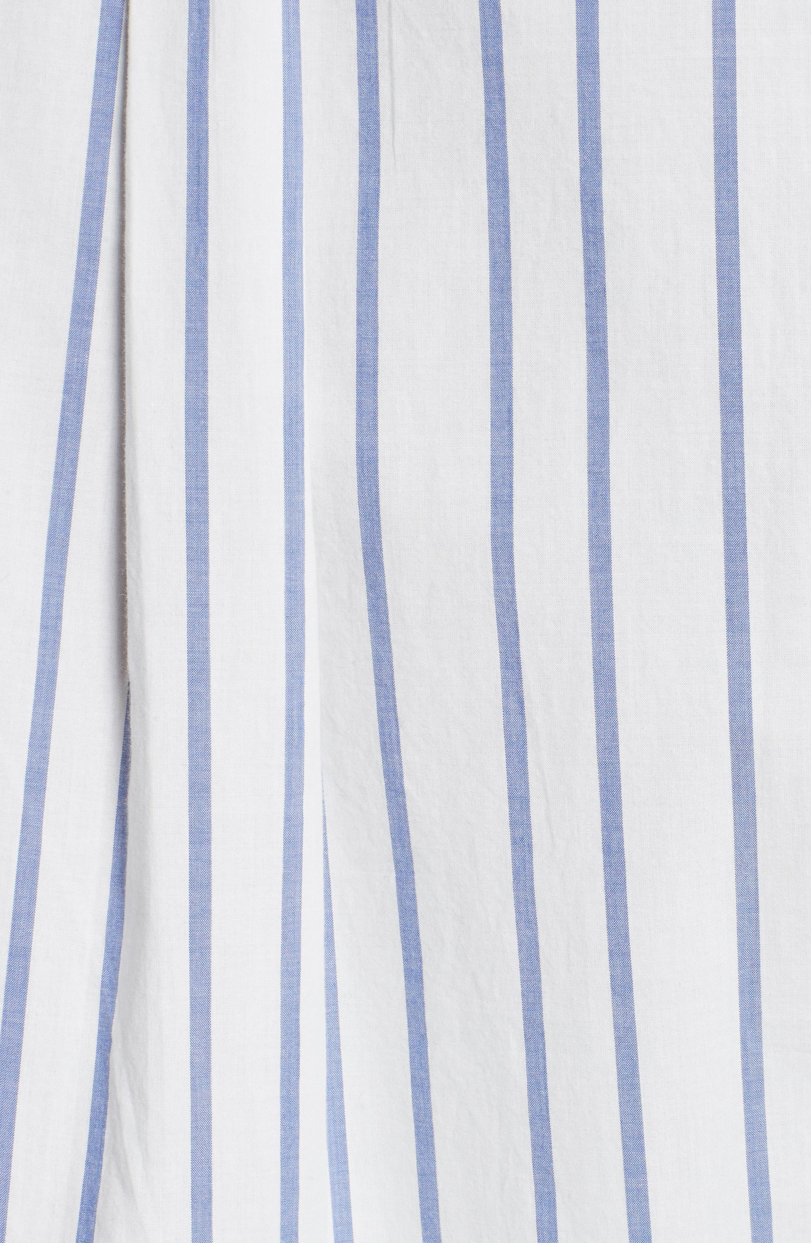 Alternate Image 5  - Todd Snyder Trim Fit Stripe Sport Shirt