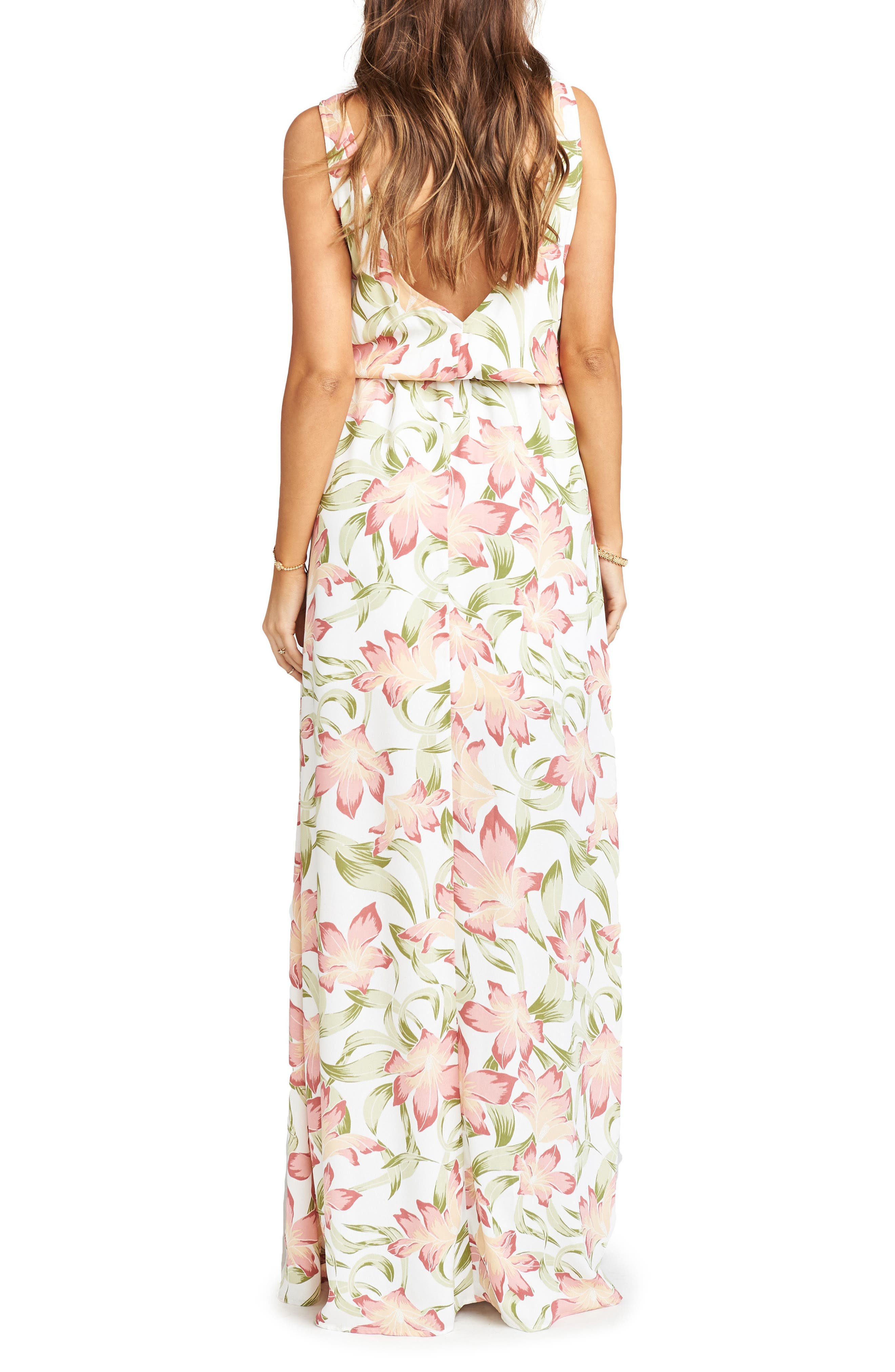 Kendall Maxi Dress,                             Alternate thumbnail 2, color,                             Lily Lady Crepe