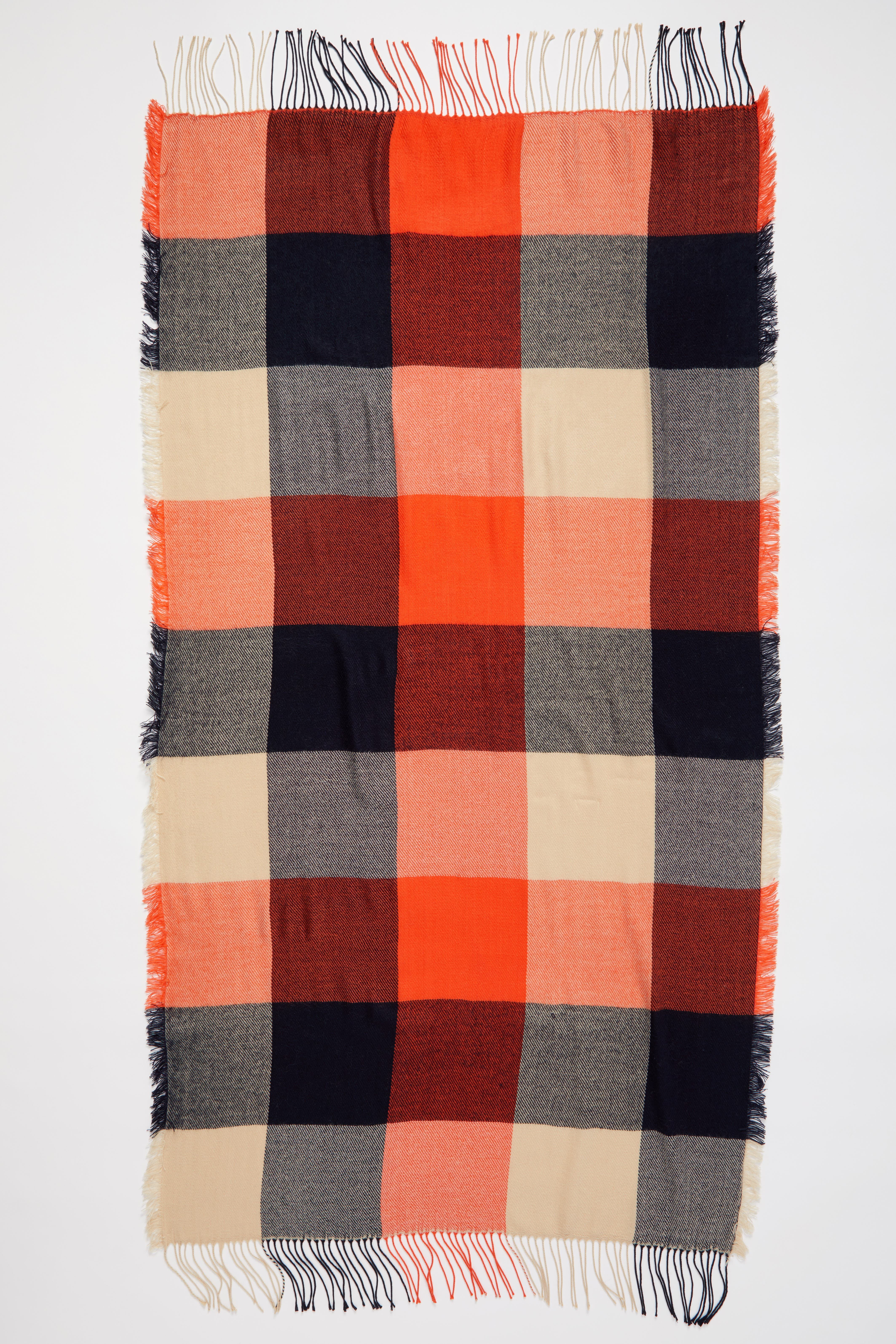 Alternate Image 2  - Madewell Checkmate Fringe Scarf
