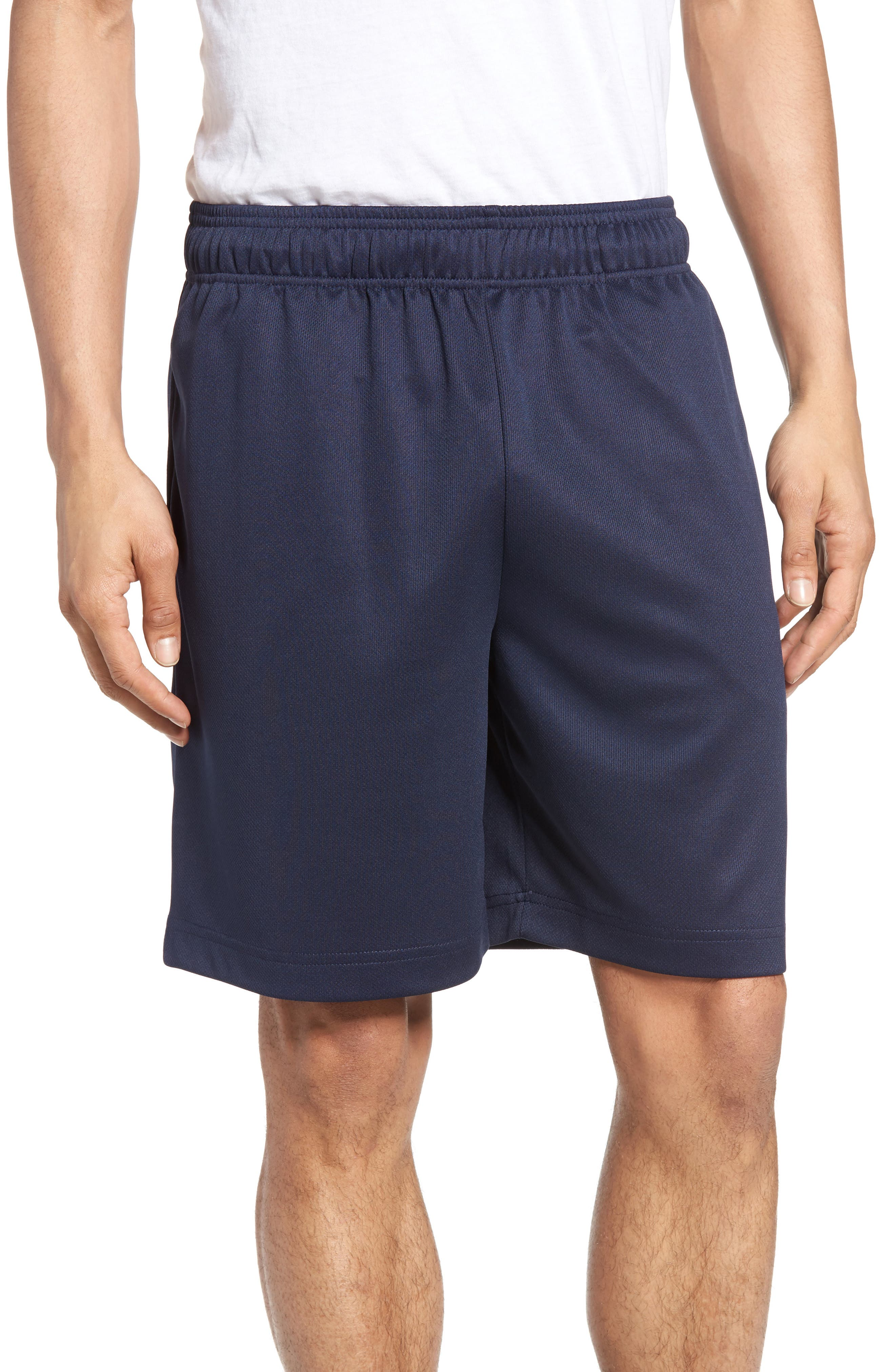 Work Out Lounge Shorts,                             Main thumbnail 1, color,                             Navy