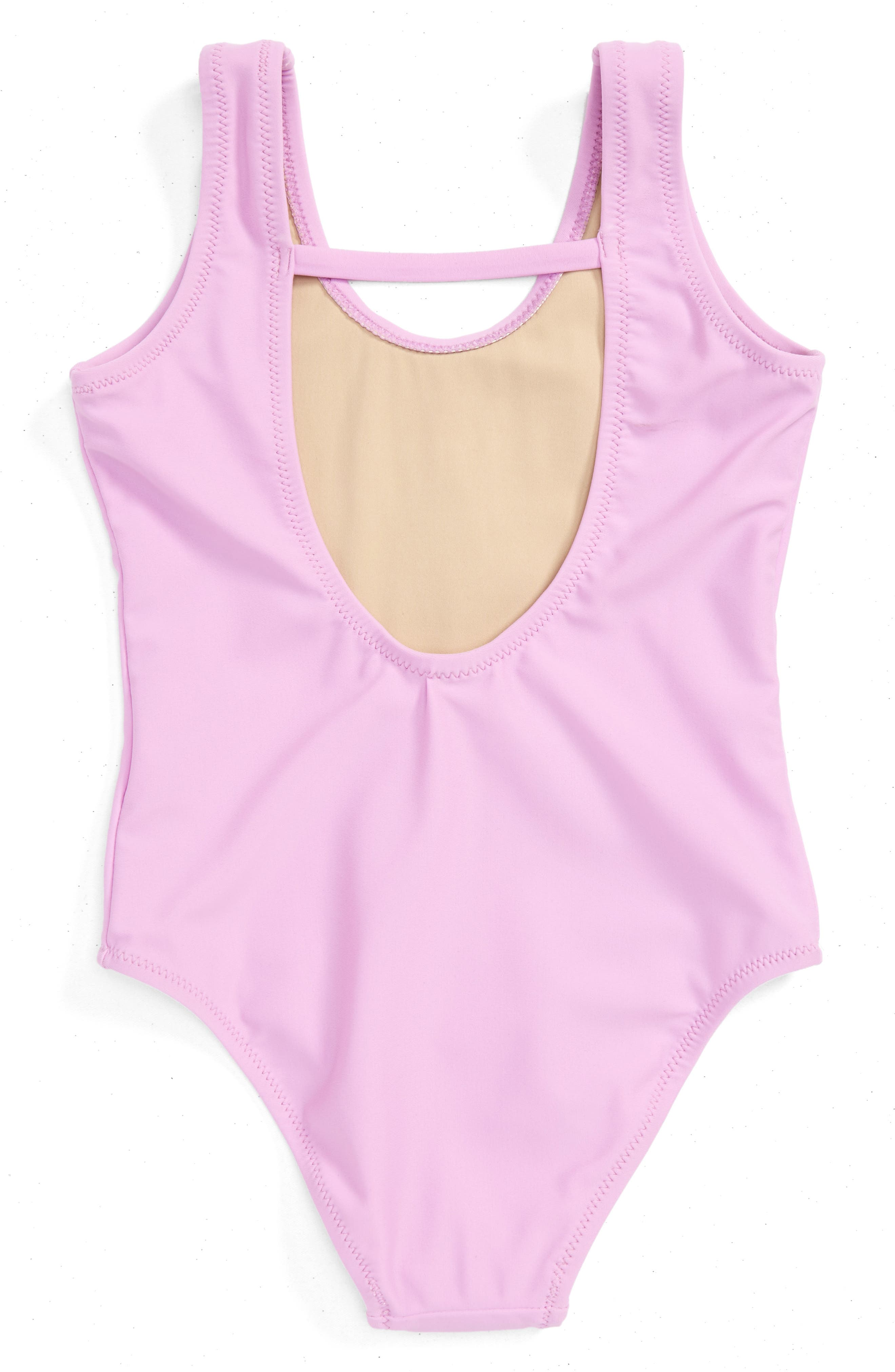 Alternate Image 2  - Shade Critters Lifeguard One-Piece Swimsuit (Toddler Girls & Little Girls)