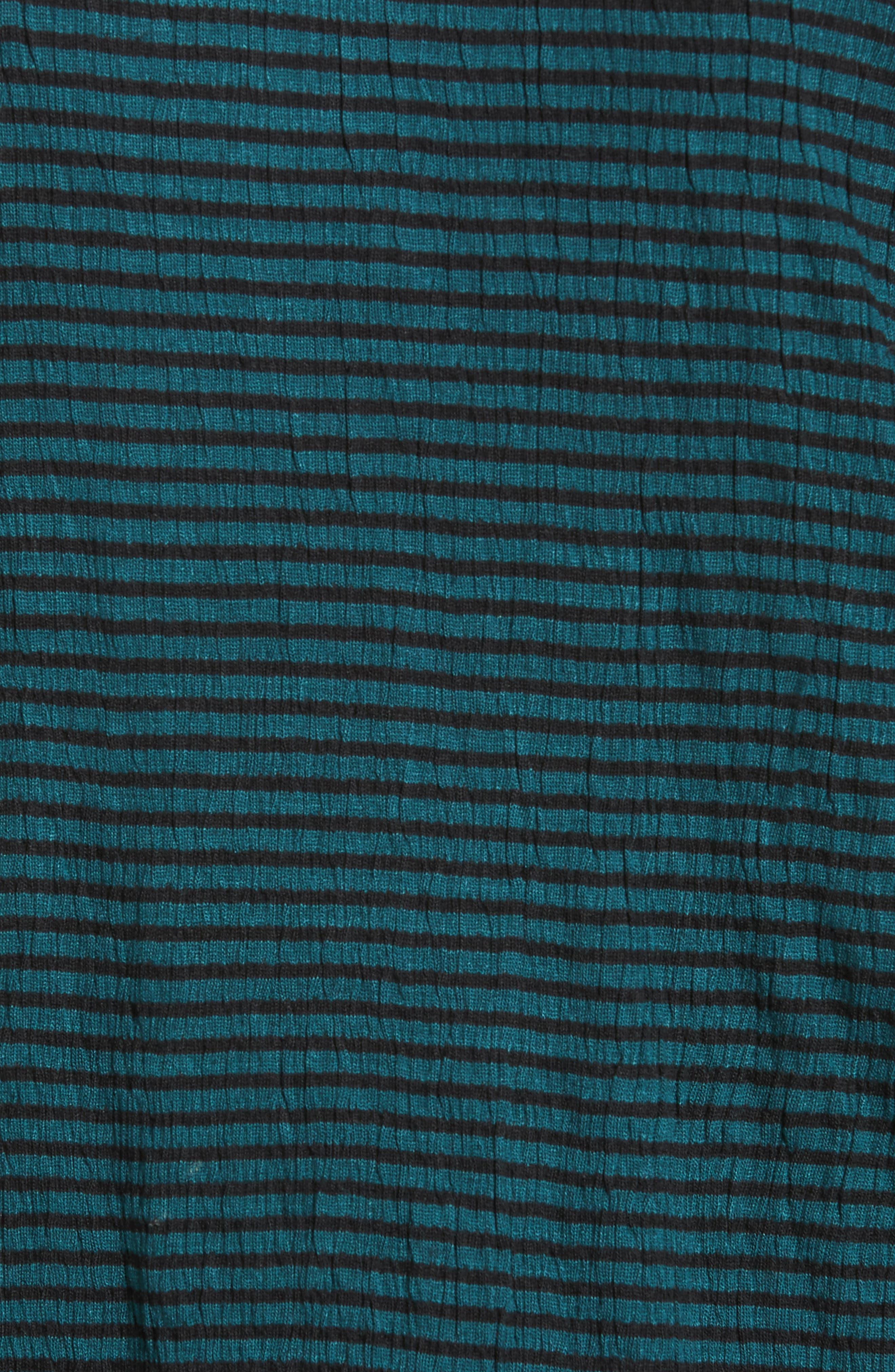 Alternate Image 5  - Caslon® Stripe Bell Sleeve Tee (Regular & Petite)