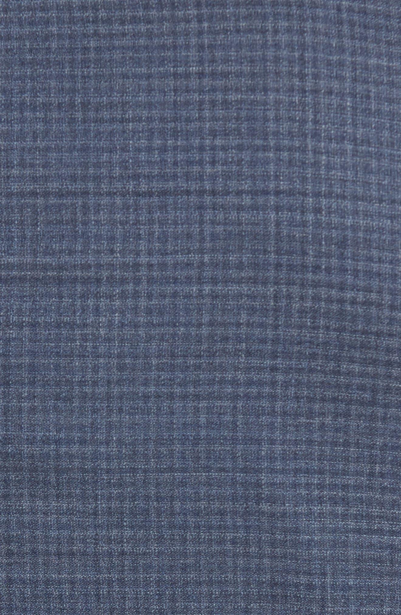 Alternate Image 7  - Michael Bastian Classic Fit Check Wool Suit