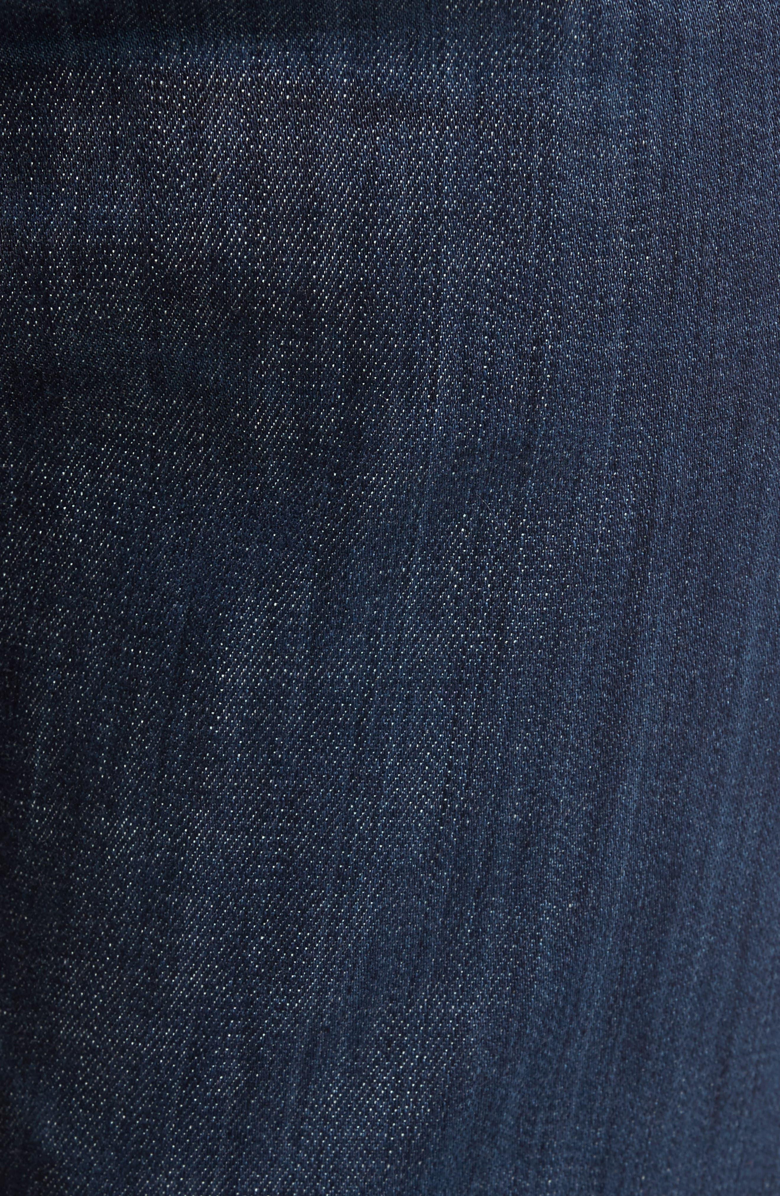 Alternate Image 5  - AG Graduate Slim Straight Leg Jeans (Balcony) (Regular & Tall)