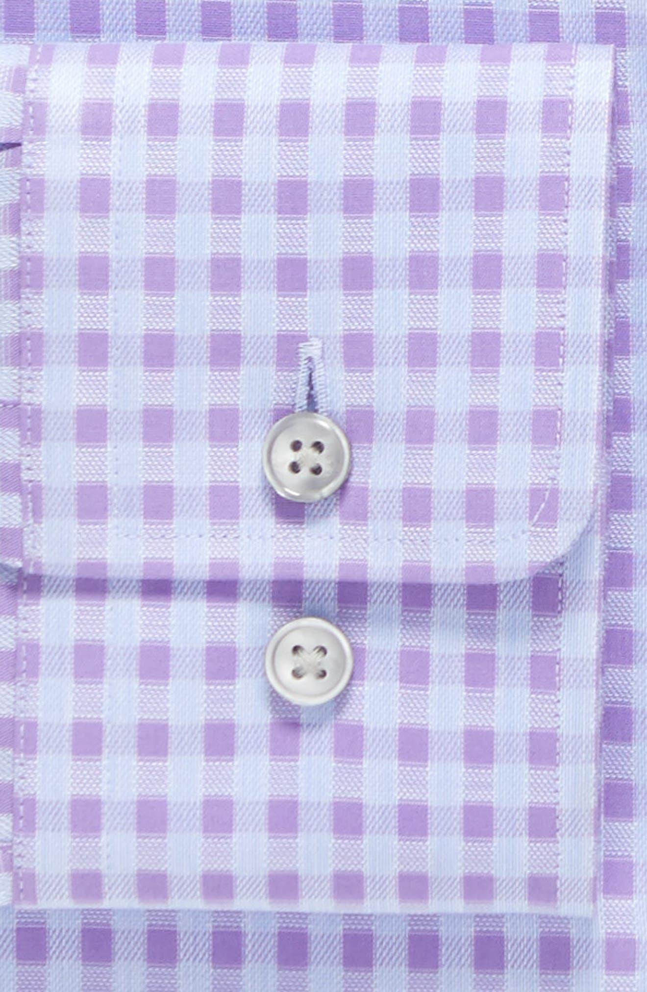 Alternate Image 4  - BOSS Sharp Fit Check Dress Shirt