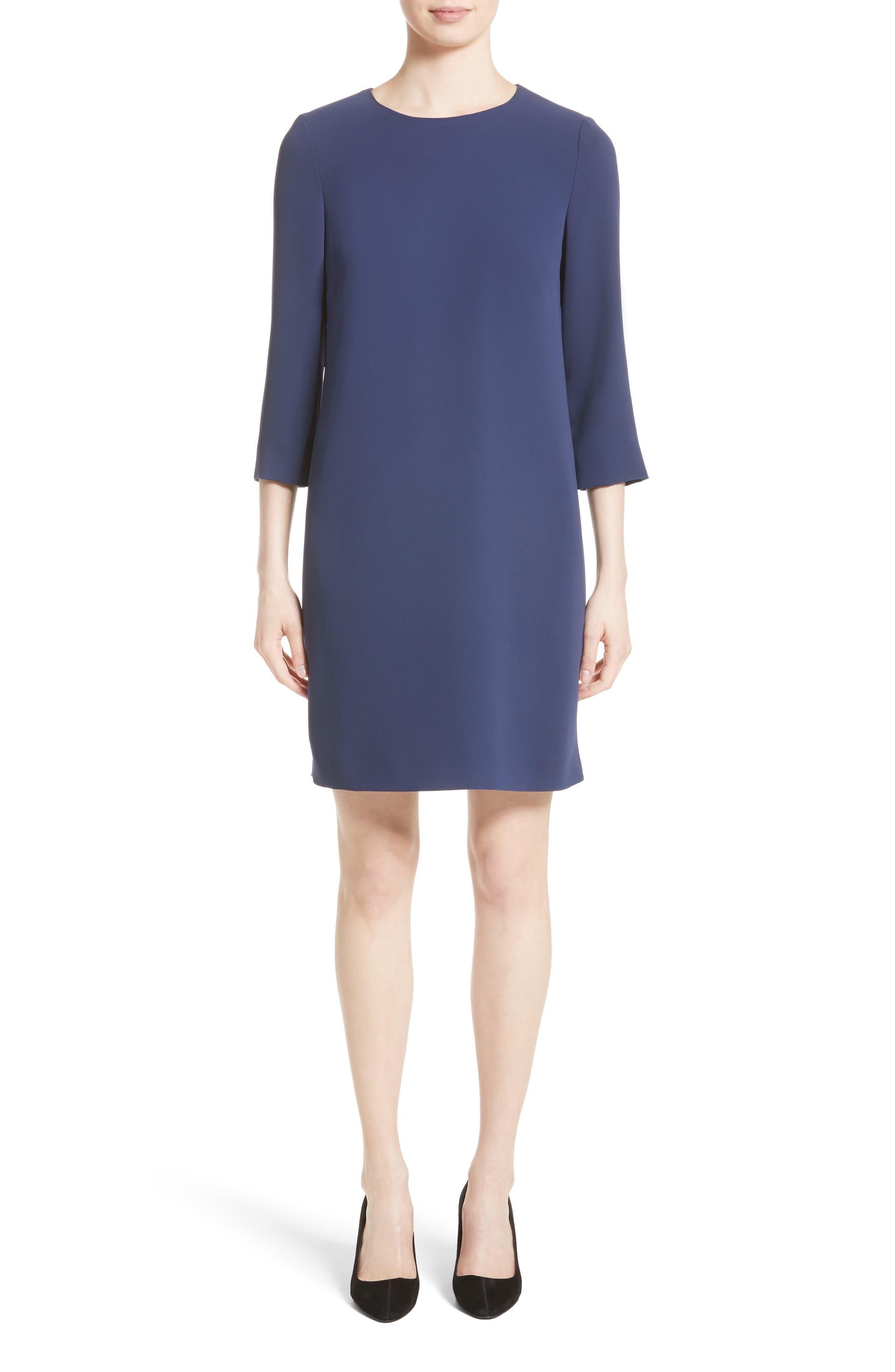 Shift Dress,                         Main,                         color, China Blue