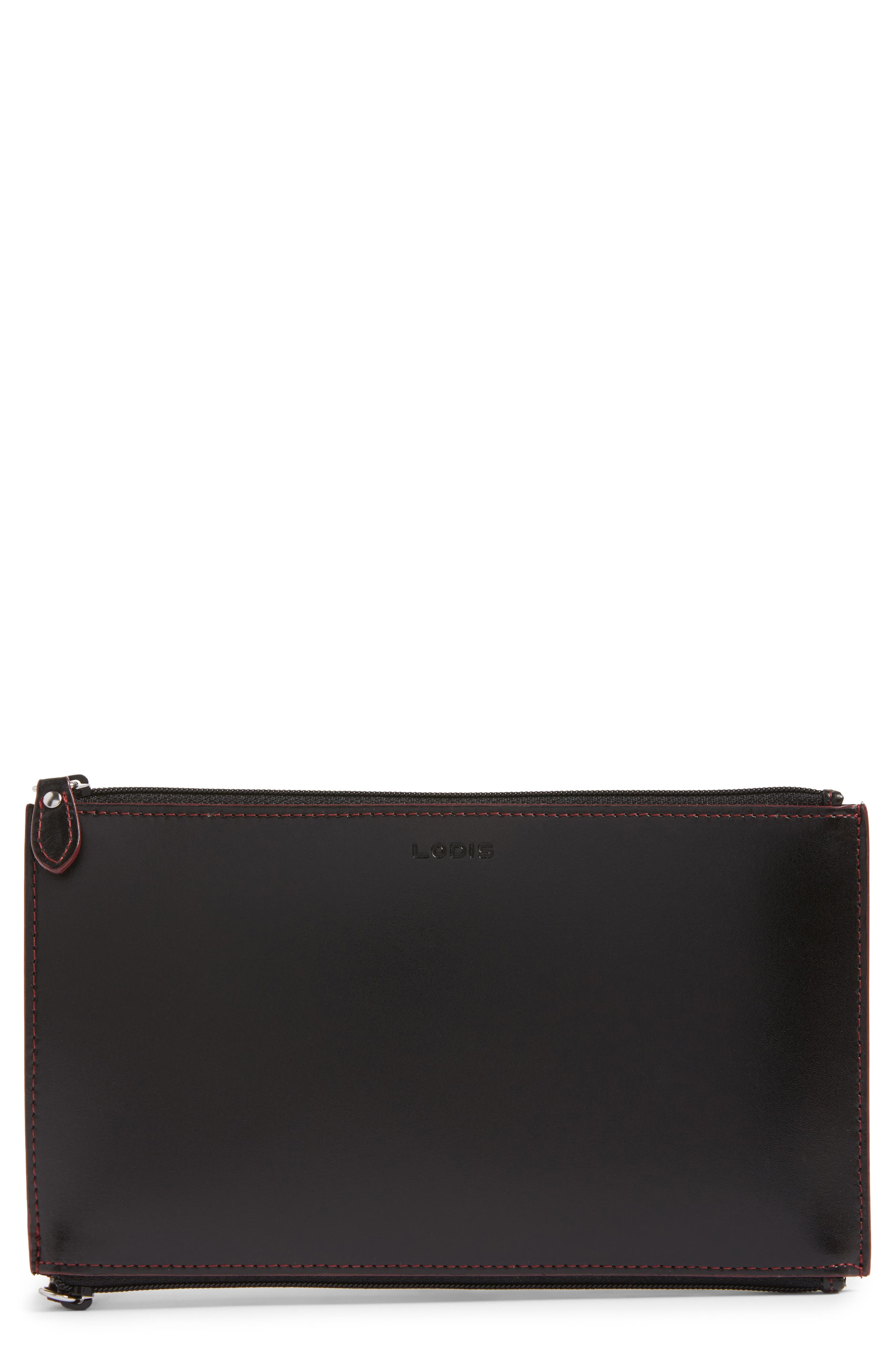 Lodis Audrey - Lani RFID Double-Sided Leather Zip Pouch