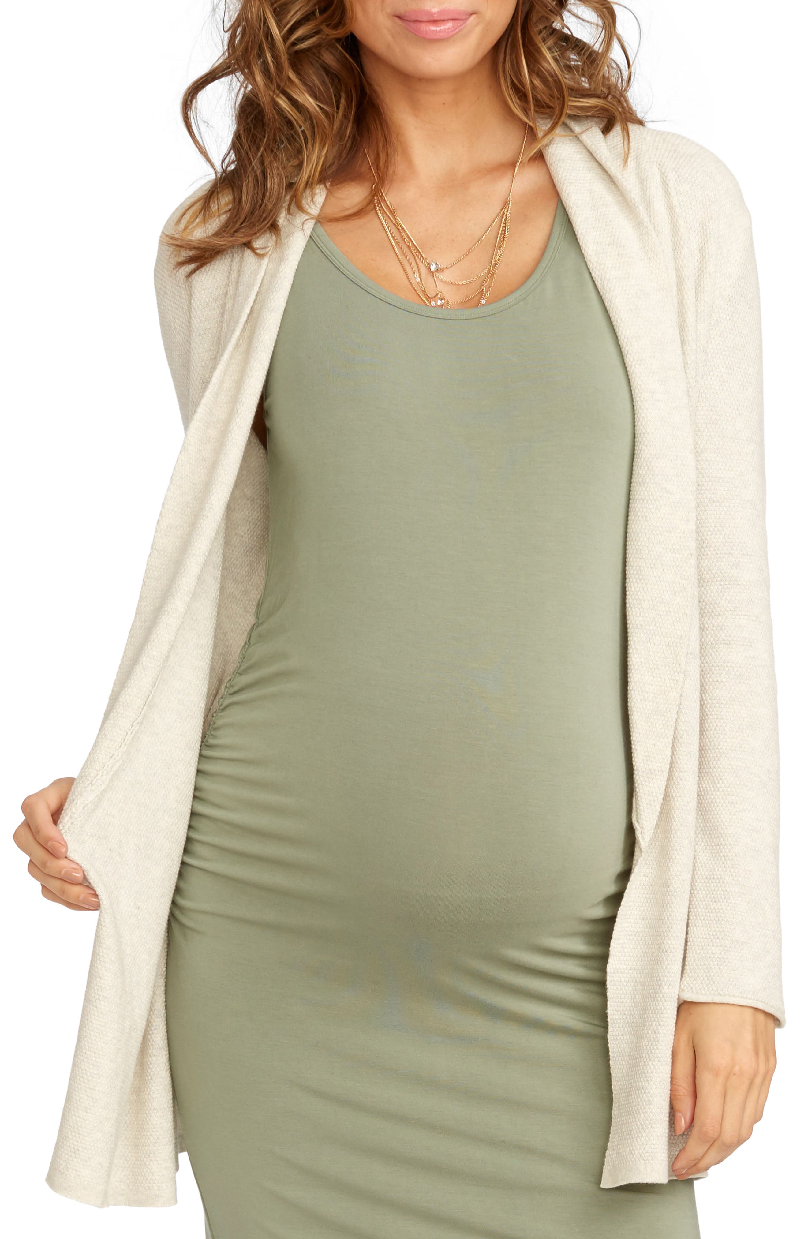 Alternate Image 1 Selected - Rosie Pope Taylor Maternity Cardigan