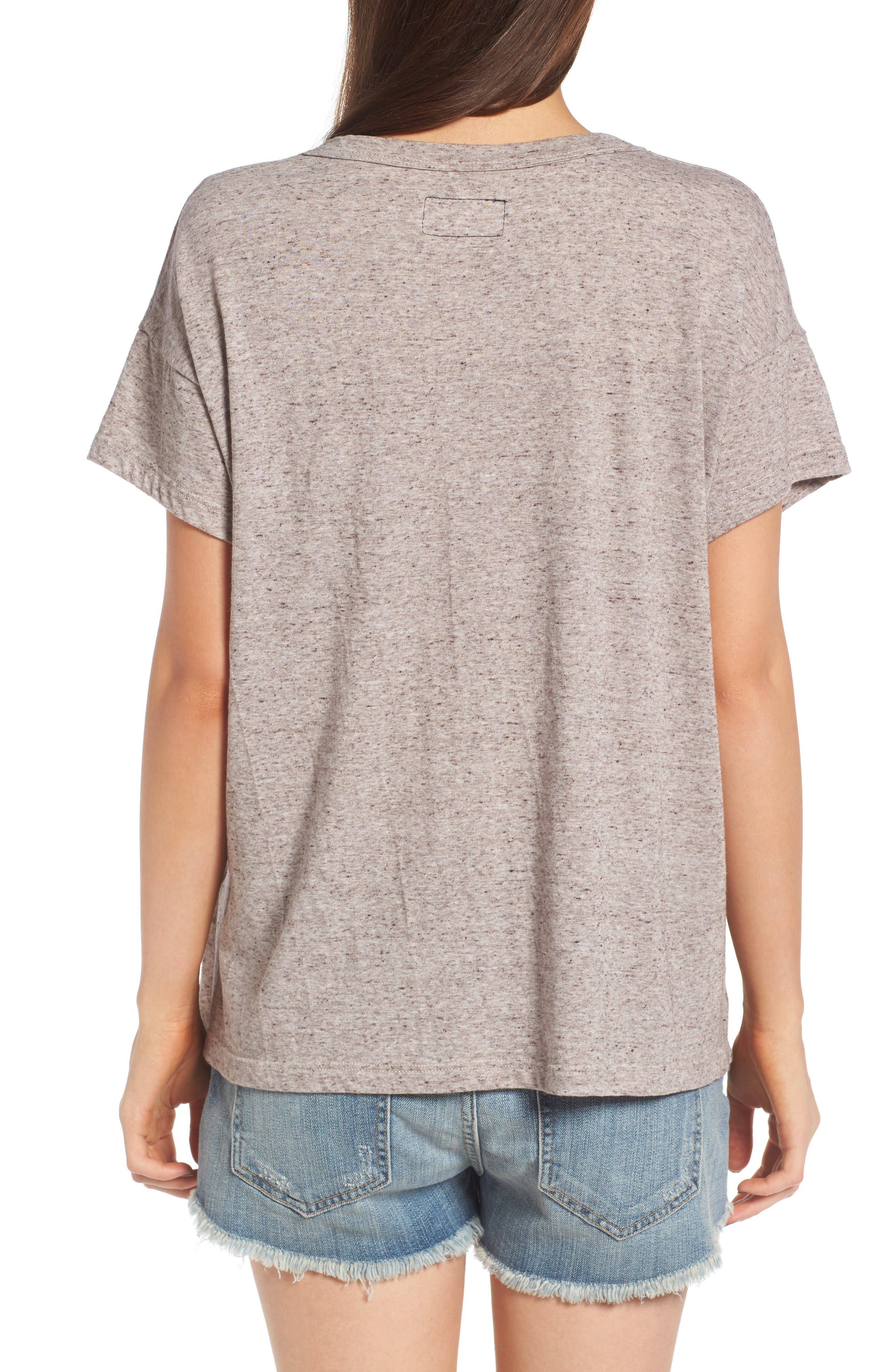 Alternate Image 2  - Current/Elliott The Slouchy Scoop Tee