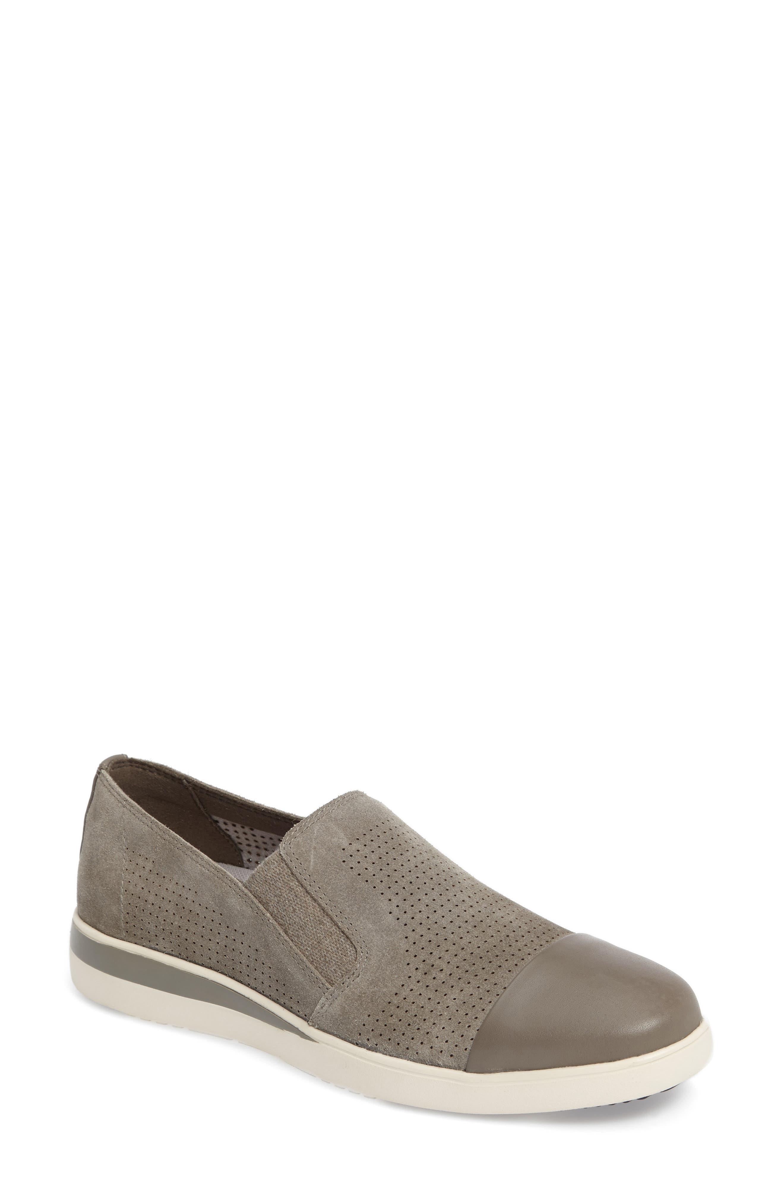 ED Ellen DeGeneres Aviana Cap Toe Slip-On Sneaker (Women)