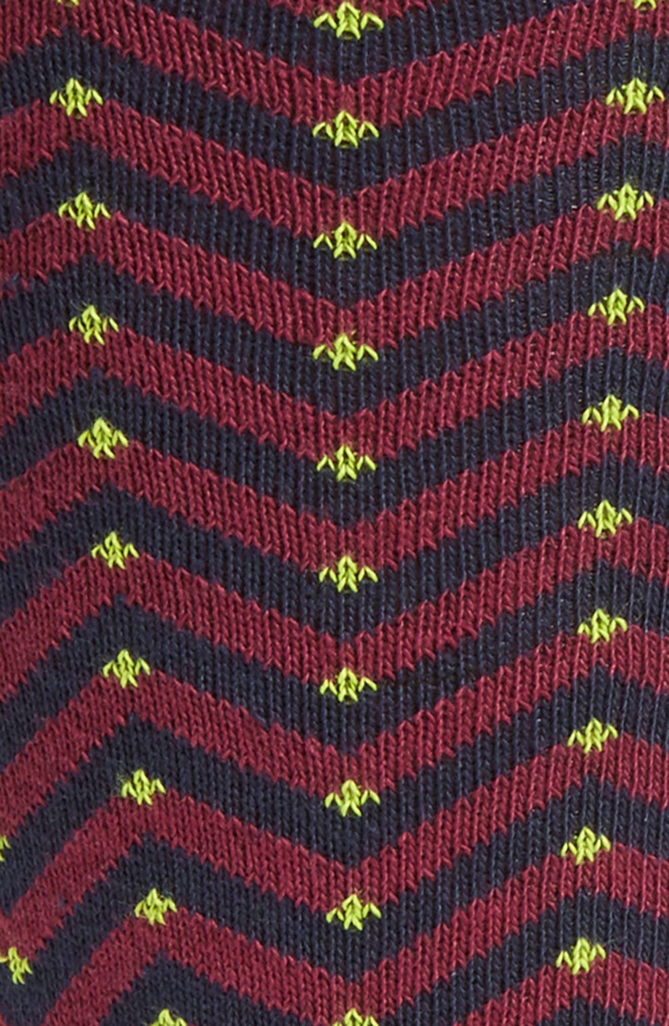 Alternate Image 2  - Ted Baker London Chevron Stripe Socks