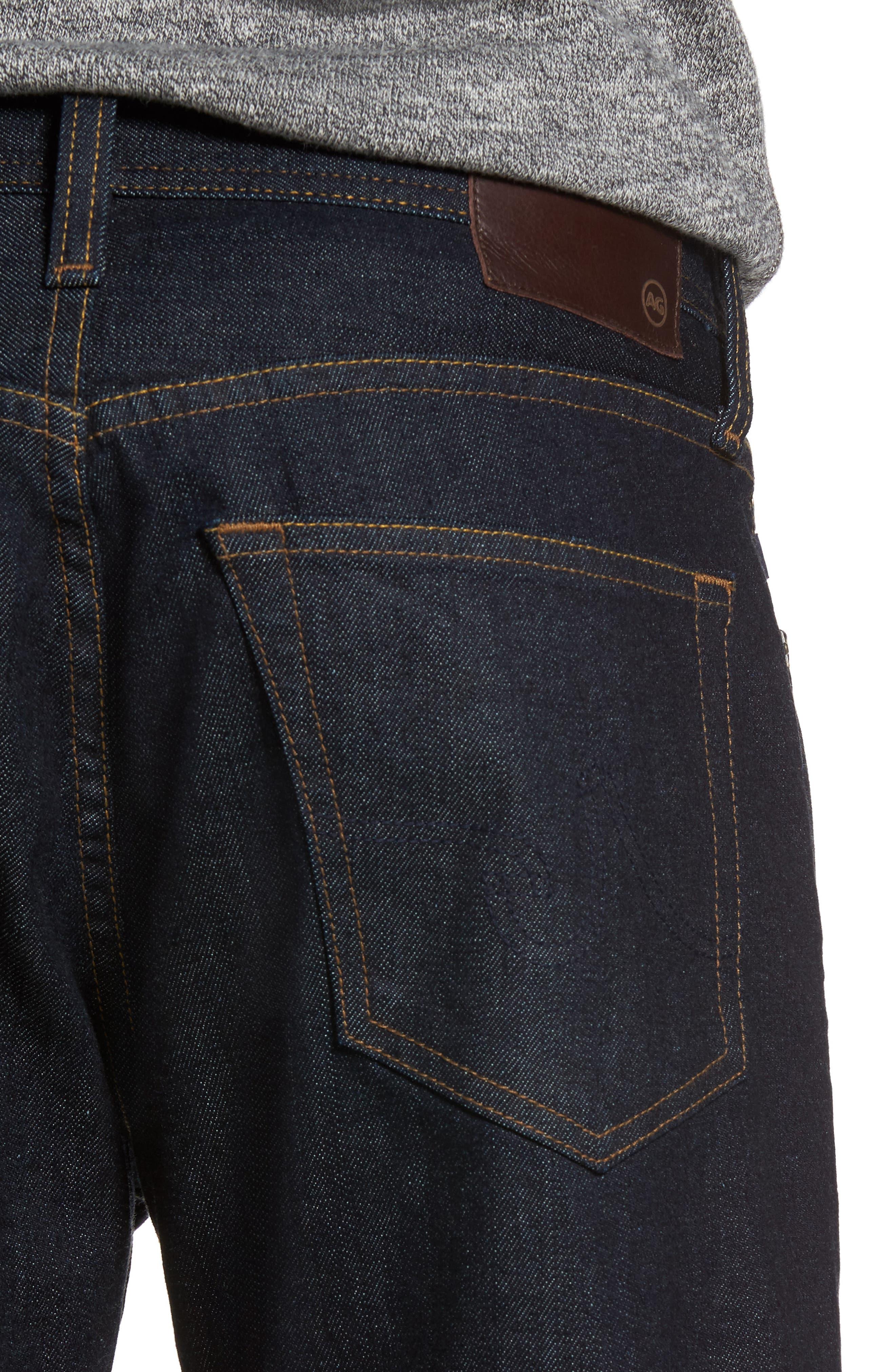 Everett Slim Straight Leg Jeans,                             Alternate thumbnail 4, color,                             Highway