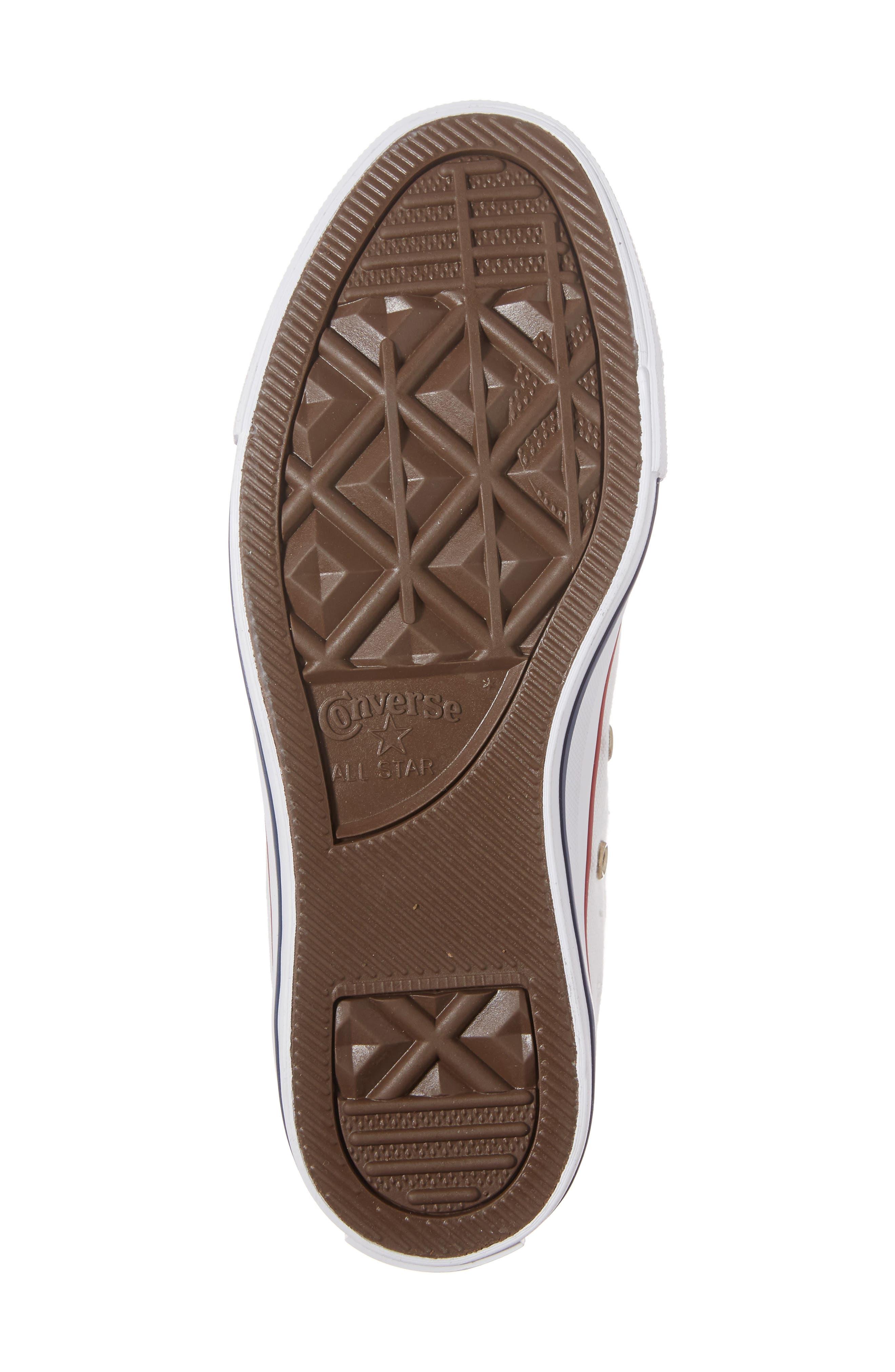 Alternate Image 5  - Converse Chuck Taylor® High Top Sneaker (Women)