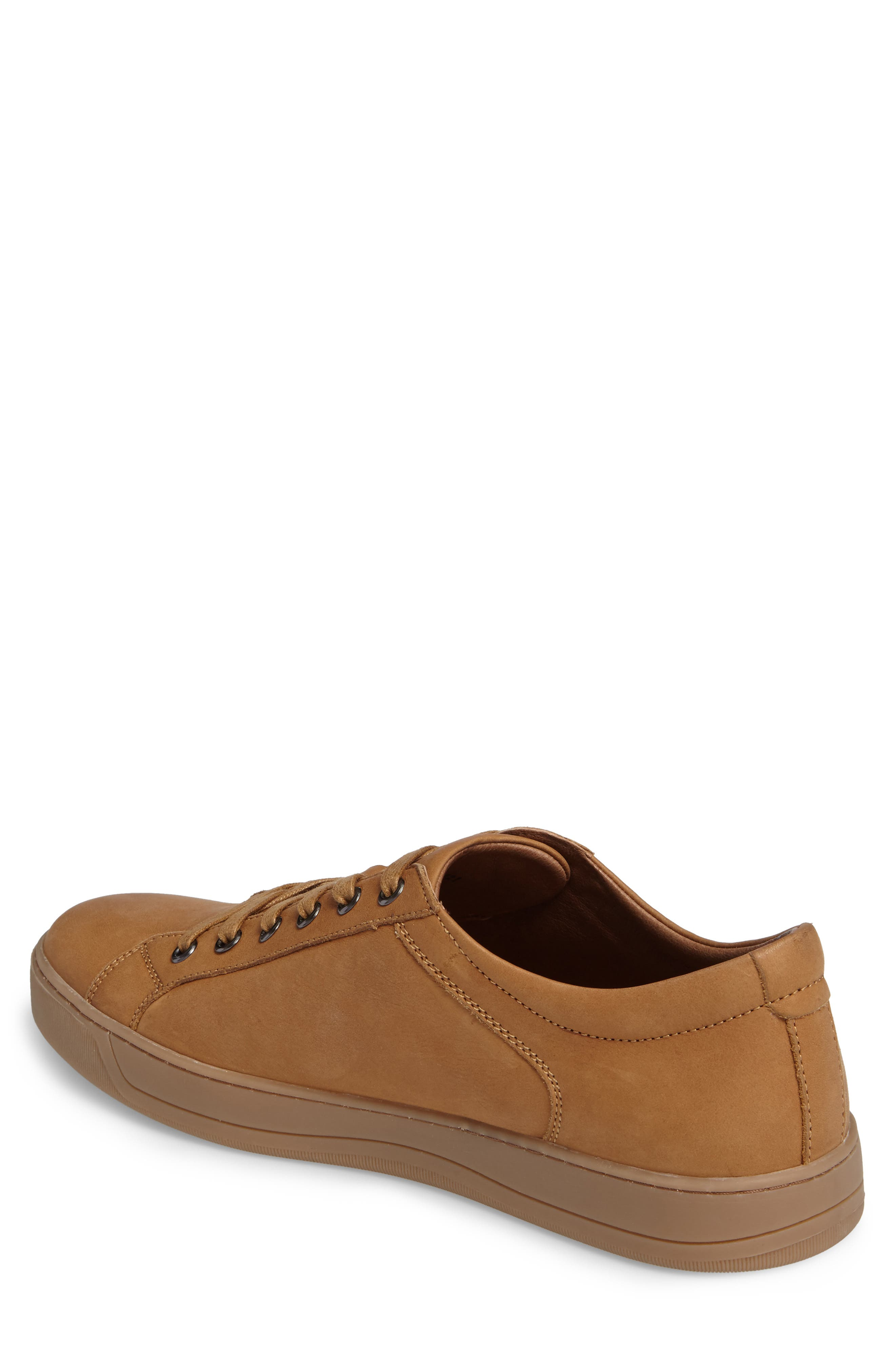 Allister Sneaker,                             Alternate thumbnail 2, color,                             Natural Leather