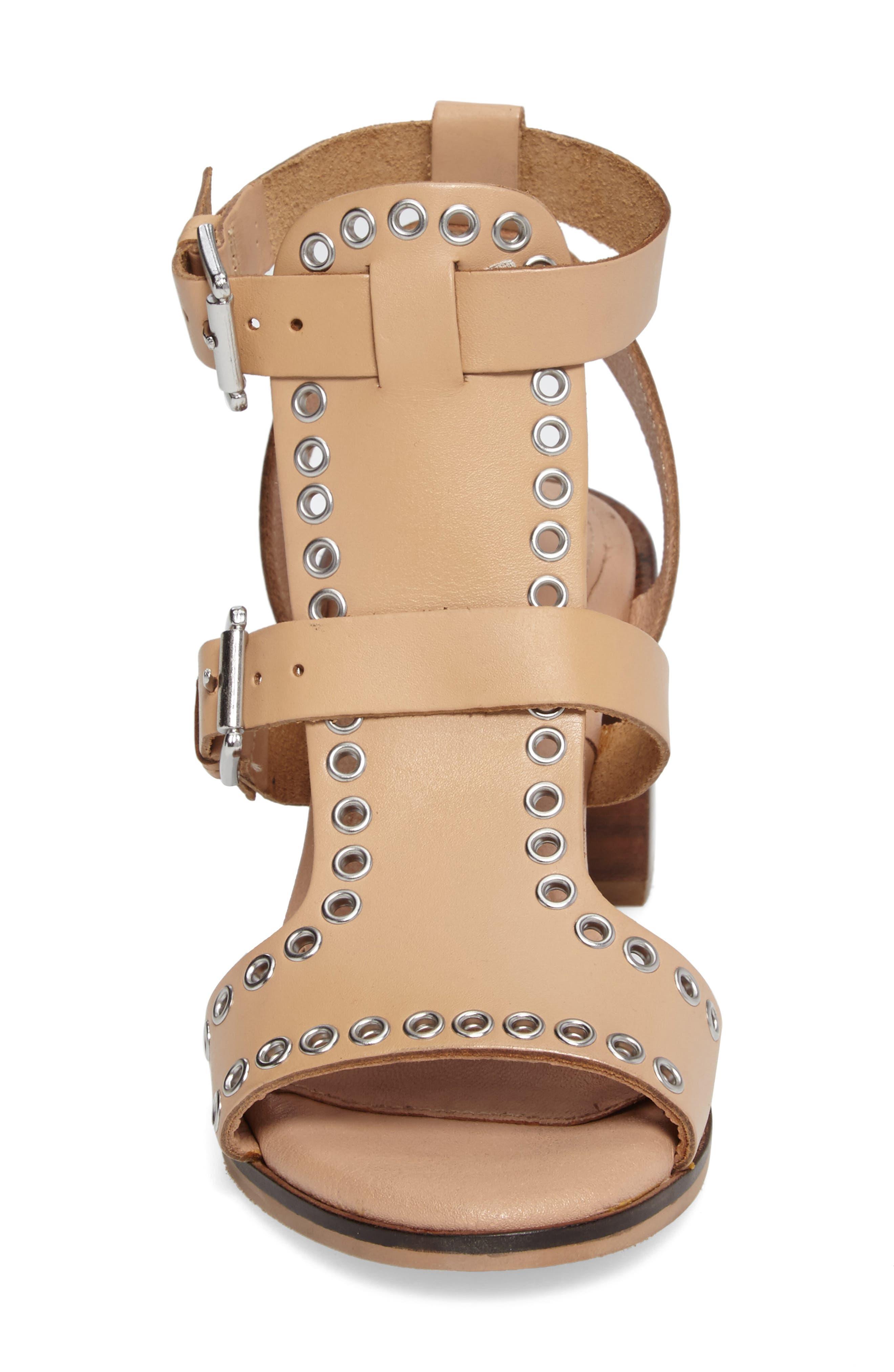 Alternate Image 4  - Topshop Vienna Grommet Sandal (Women)