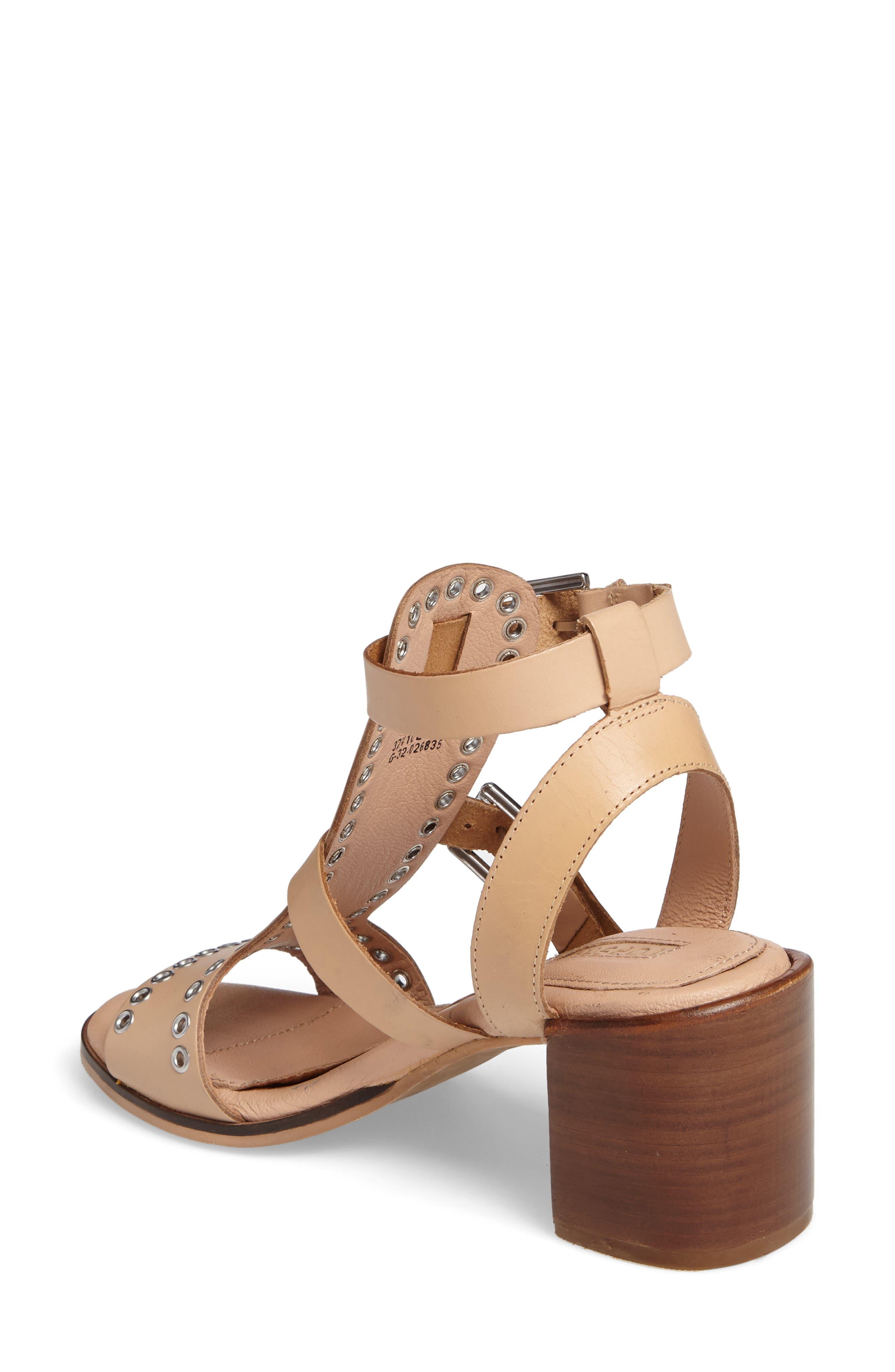 Alternate Image 2  - Topshop Vienna Grommet Sandal (Women)