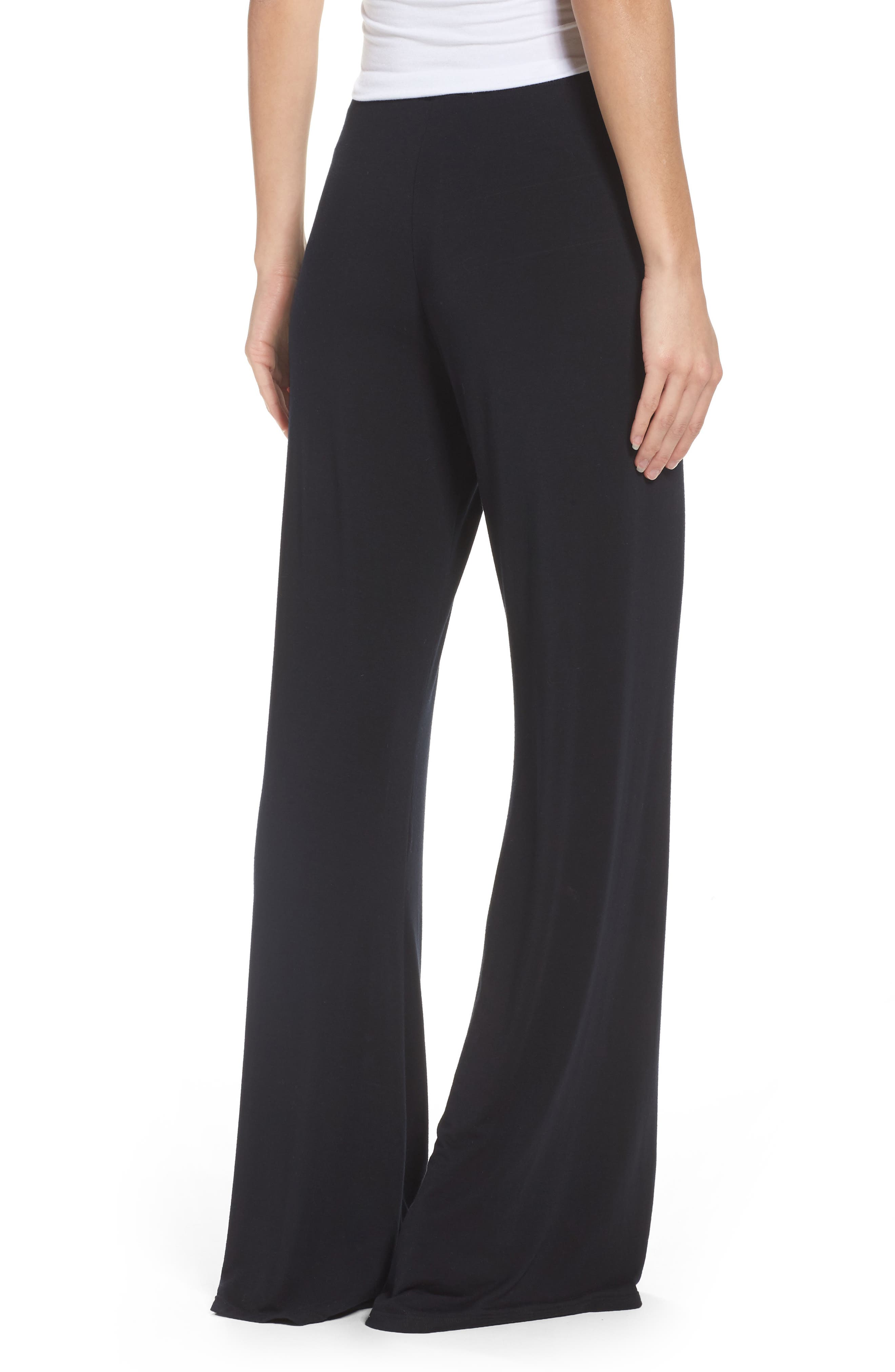 Alternate Image 2  - Olympia Theodora Golden Wide Leg Pants