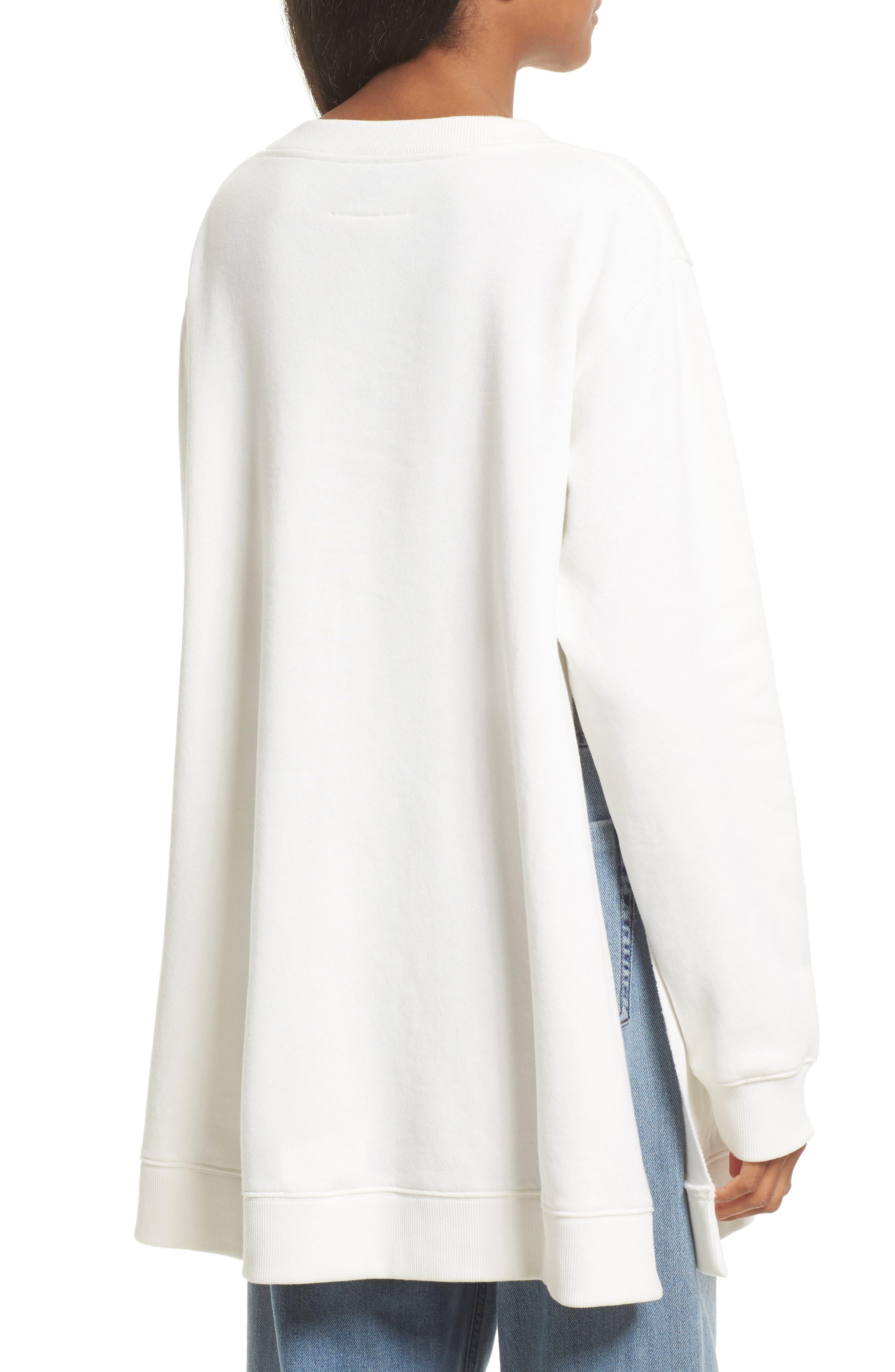 Alternate Image 2  - MM6 Maison Margiela Oversize Sweatshirt