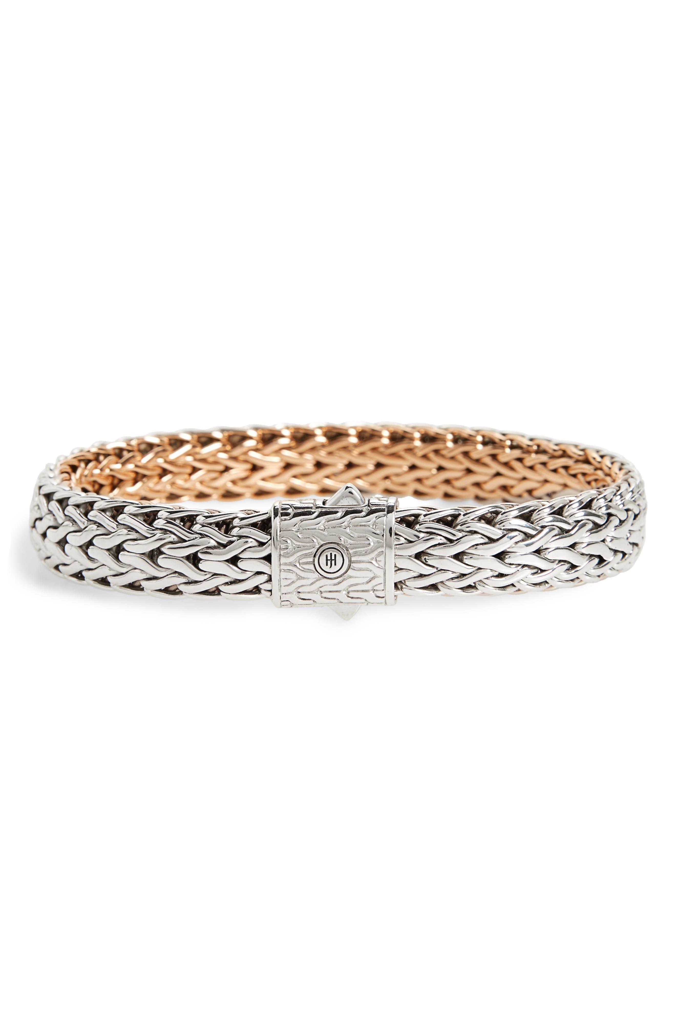 Main Image - John Hardy Classic Chain Flat Chain Reversible Bracelet