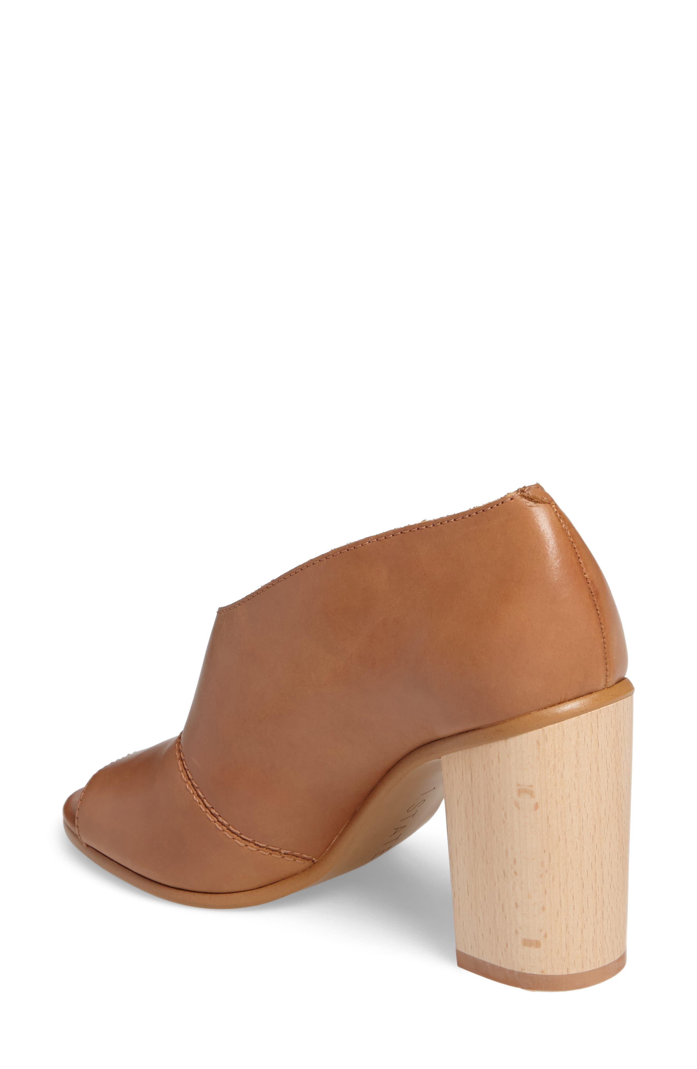Amble Asymmetrical Sandal,                             Alternate thumbnail 2, color,                             Tan Leather