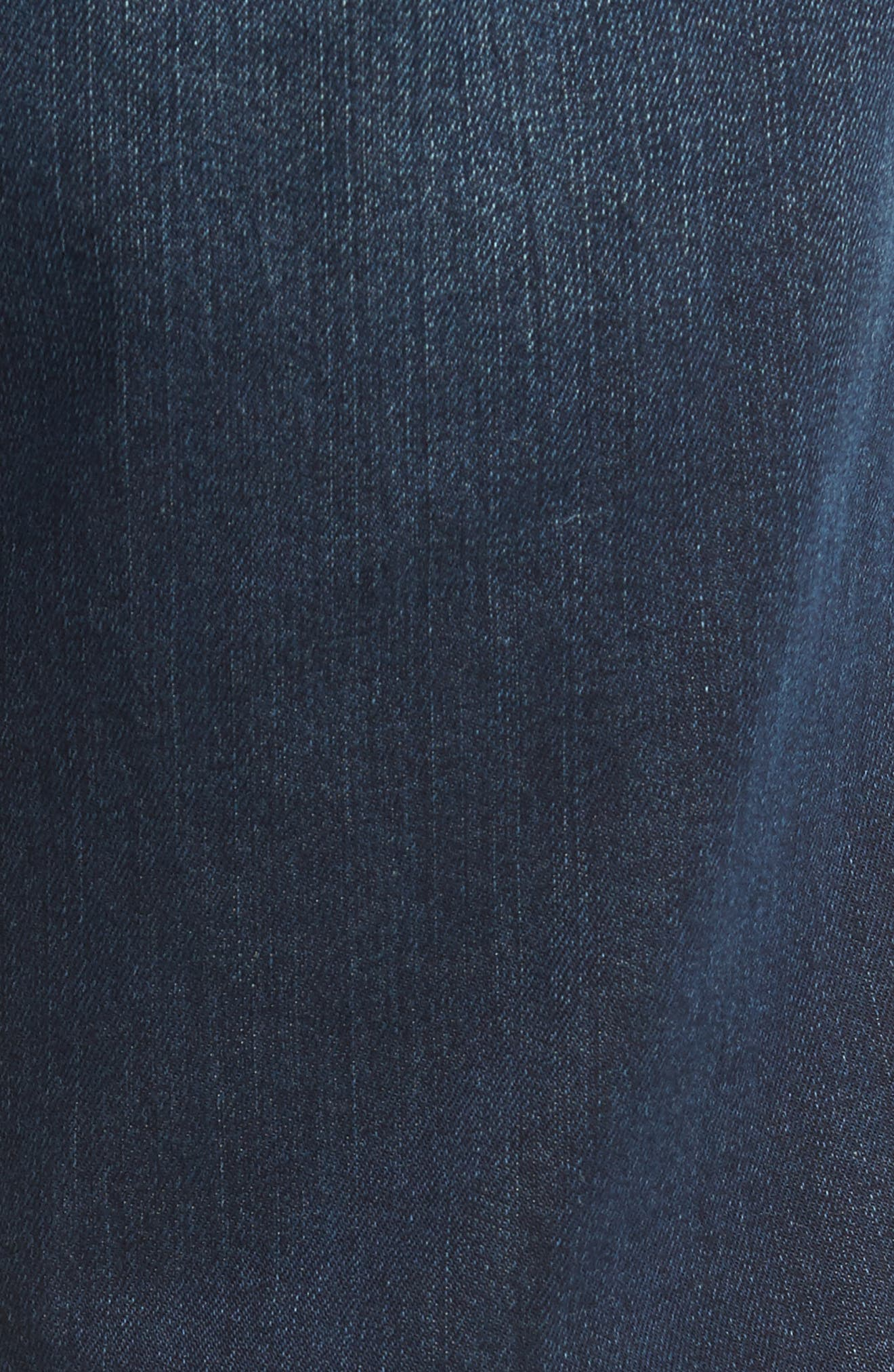 Straight Leg Jeans,                             Alternate thumbnail 5, color,                             Vintage Dark Wash