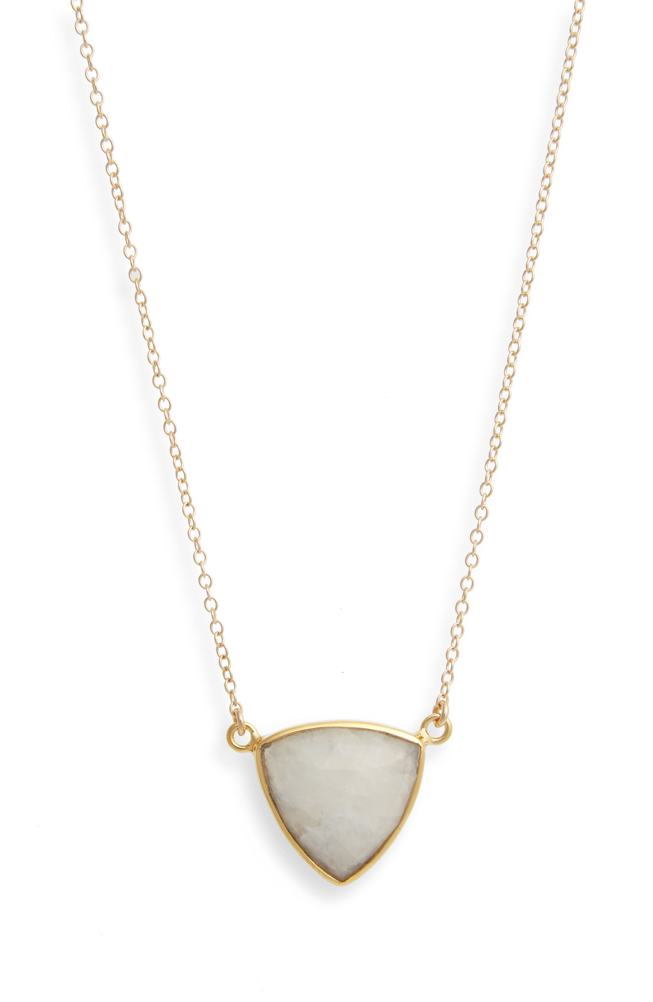 Main Image - Leah Alexandra Trillium Pendant Necklace