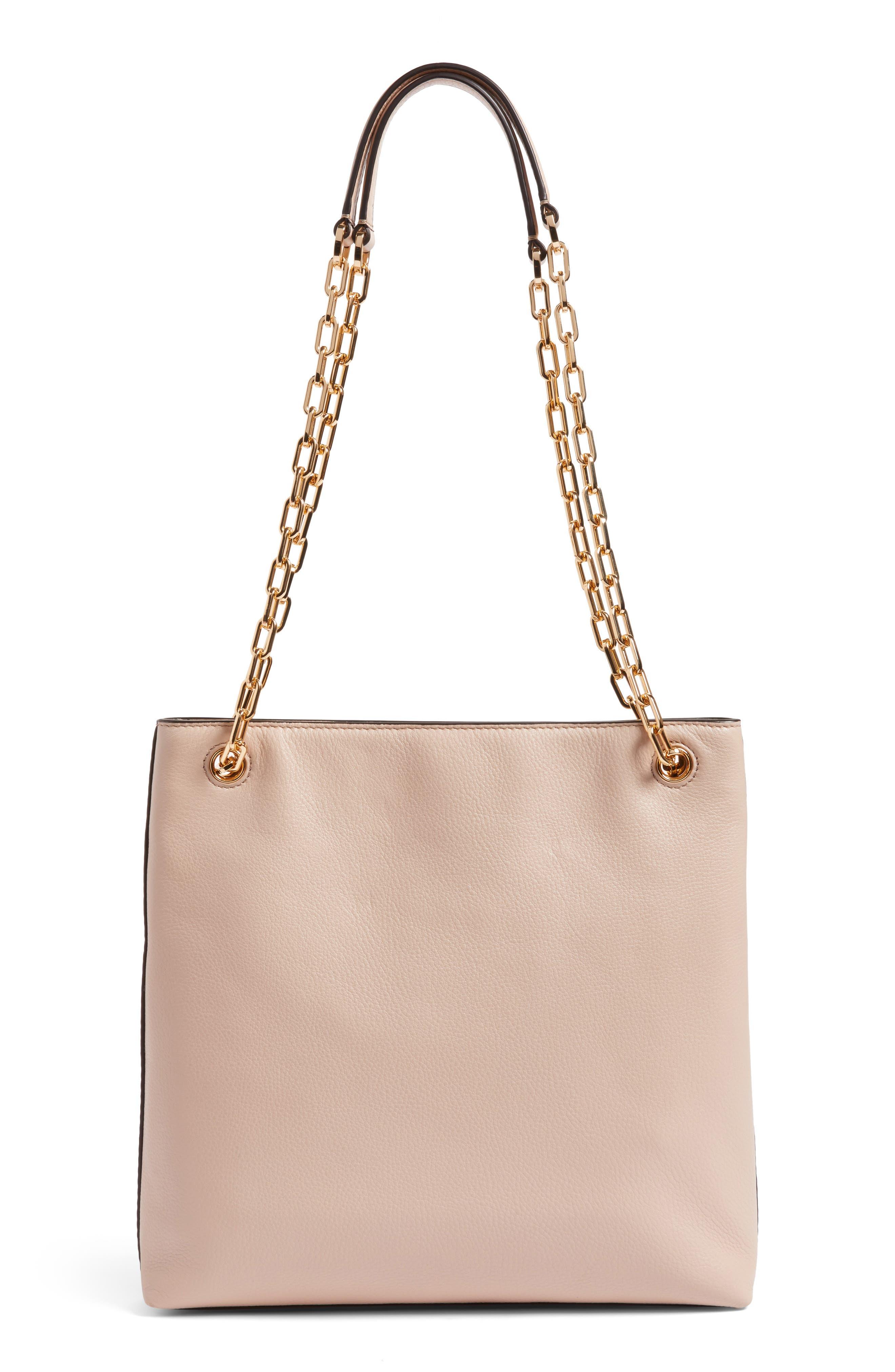 Frida Swingpack Leather Crossbody Bag,                             Alternate thumbnail 3, color,                             Light Oak