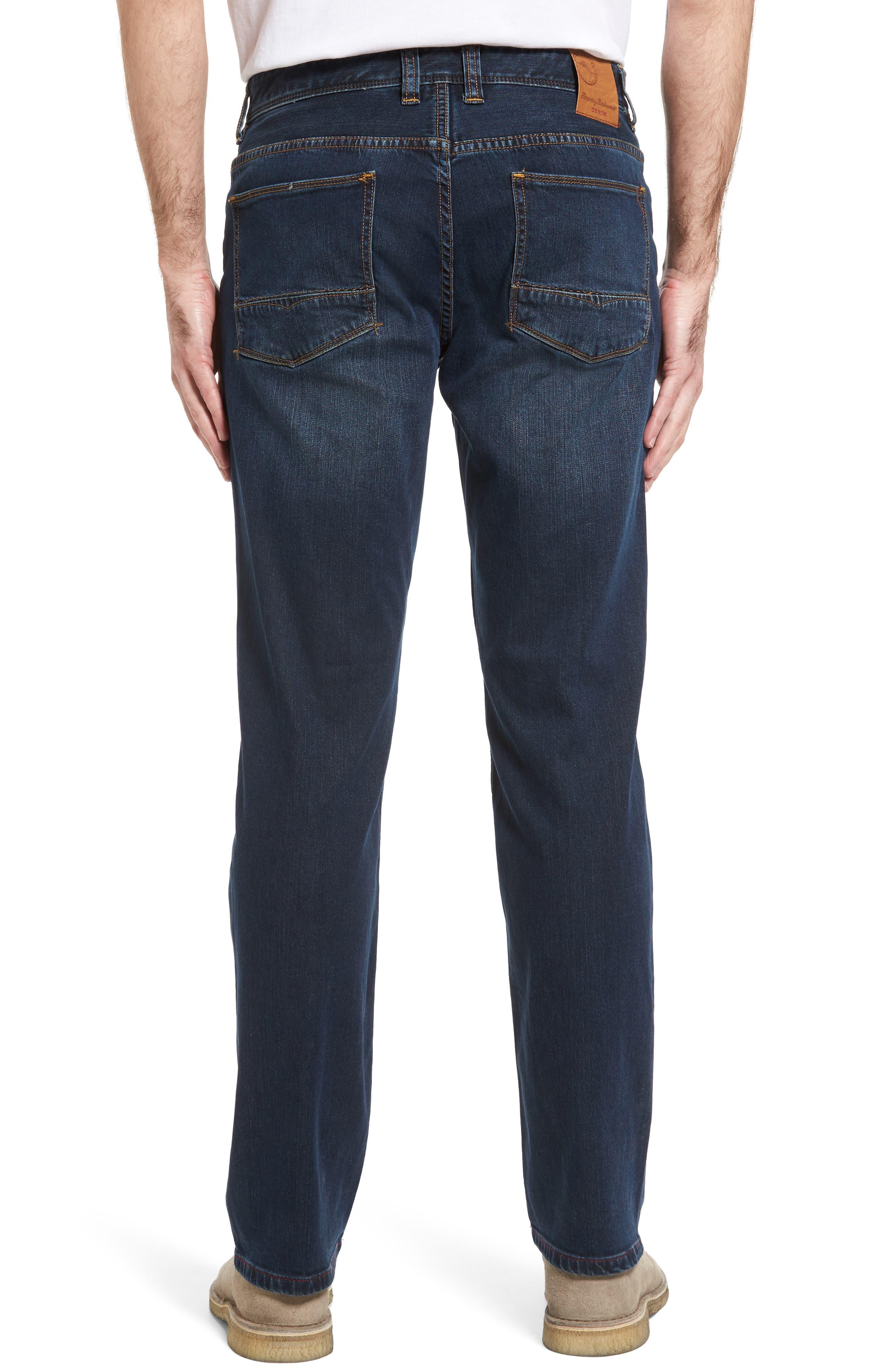Straight Leg Jeans,                             Alternate thumbnail 2, color,                             Vintage Dark Wash