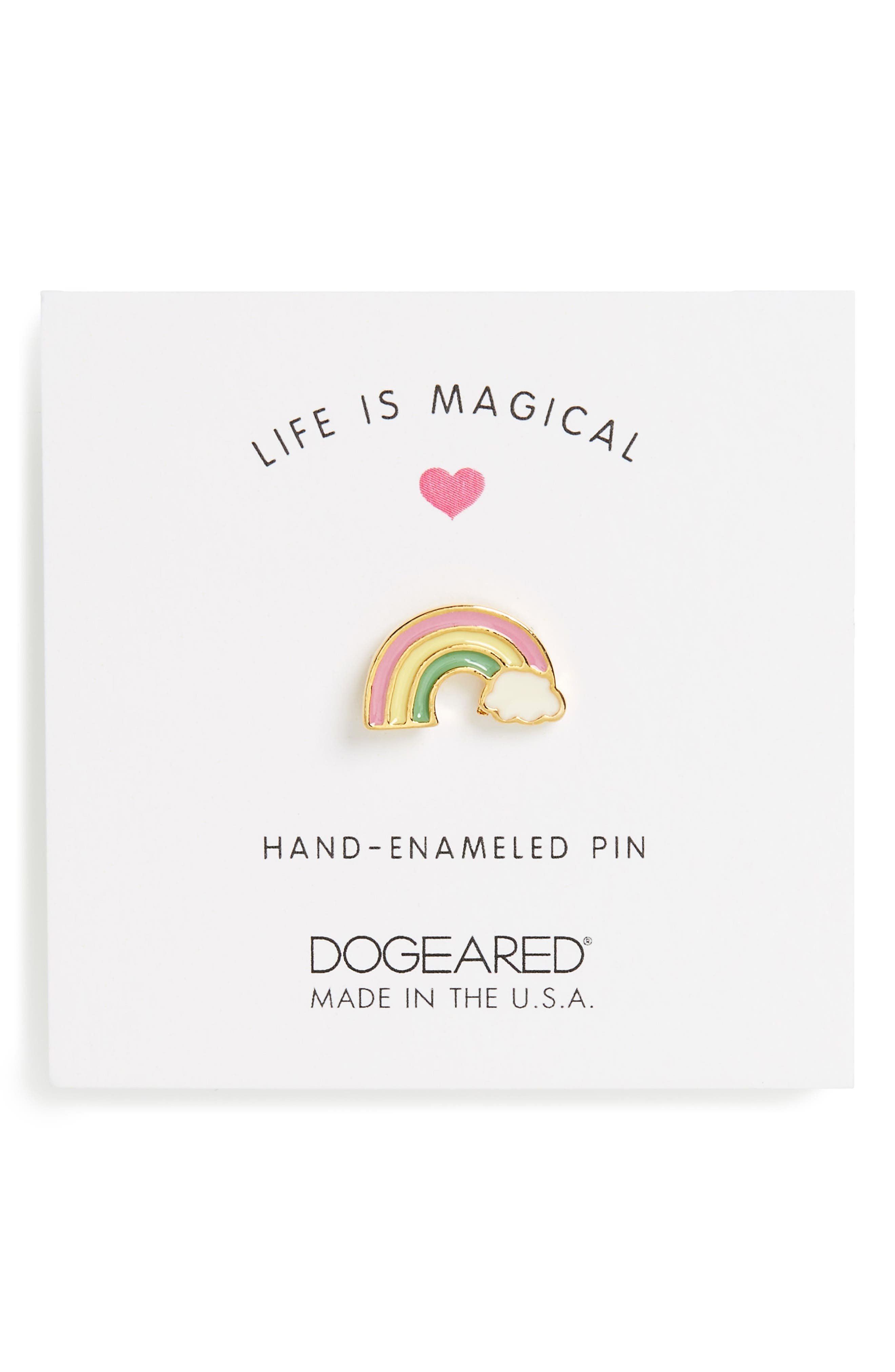 Main Image - Dogeared Life is Magical Pin